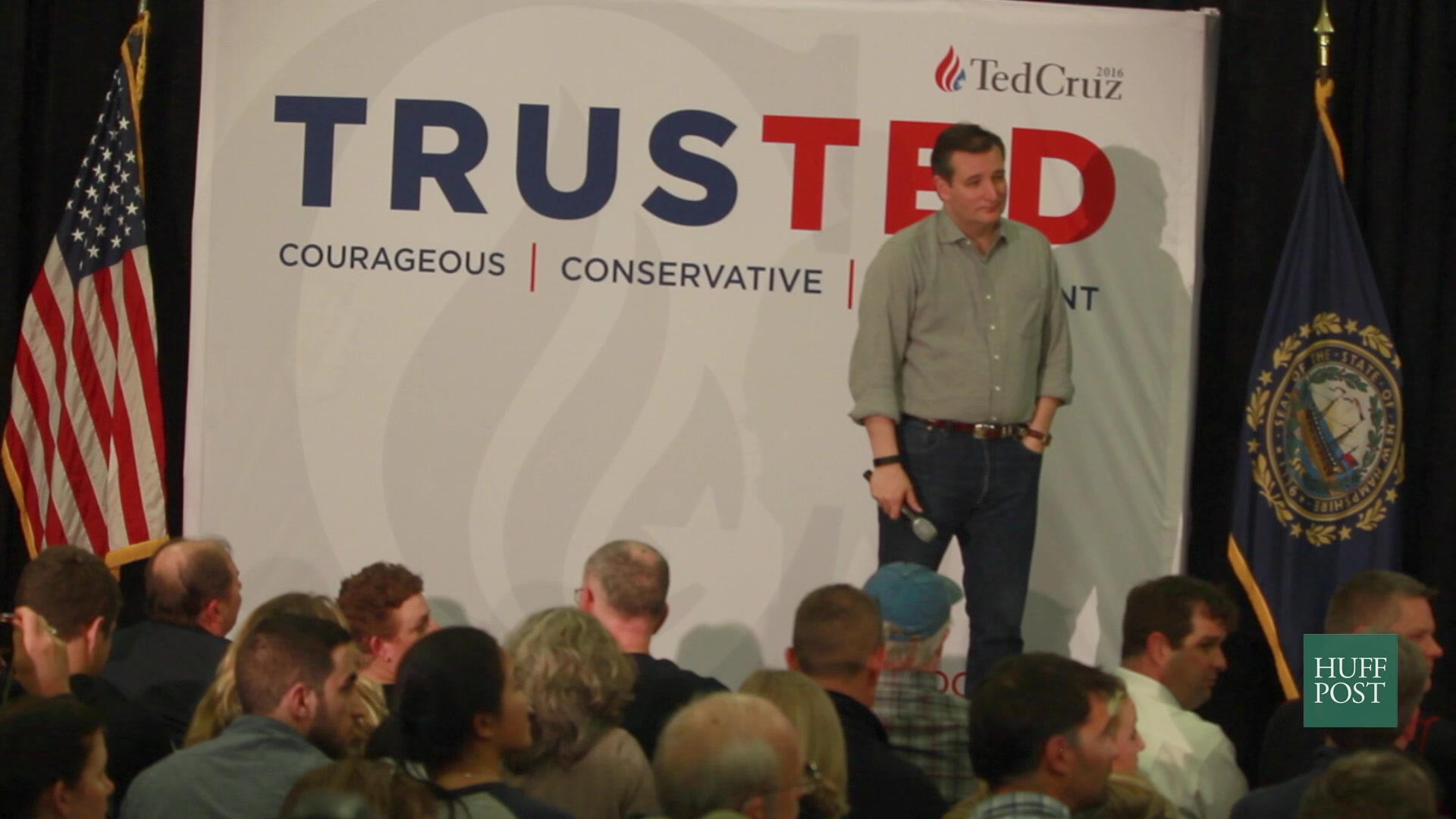 Ted Cruz Loses His Cool With A Voter Who Actually Challenges Him On Syria