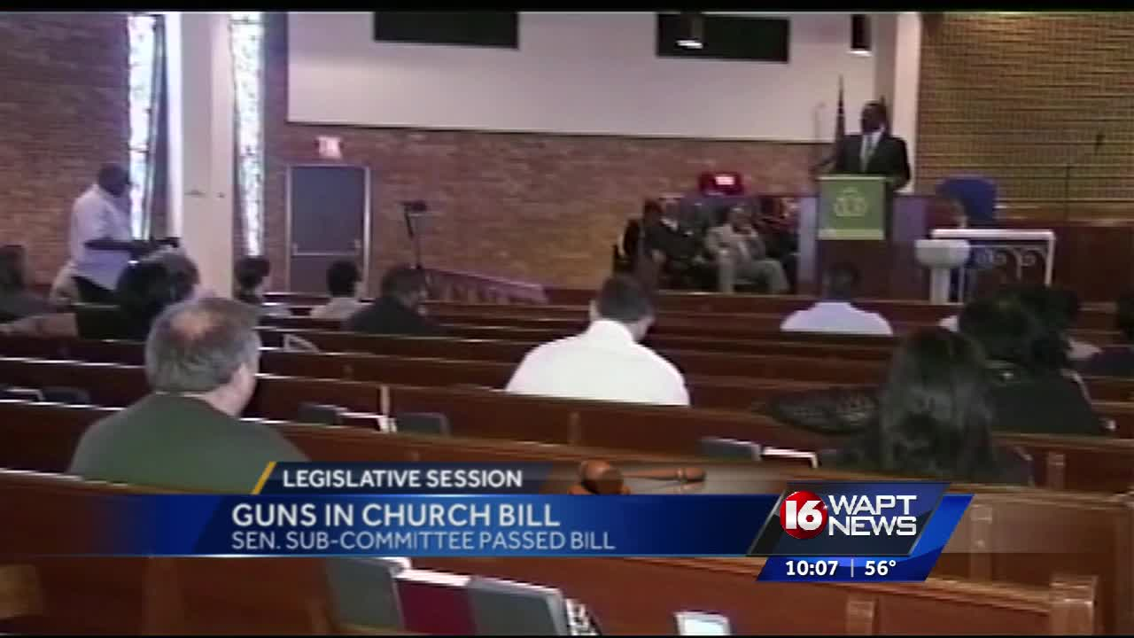 Mississippi Bill Would Let Churches Create Armed Security Squads