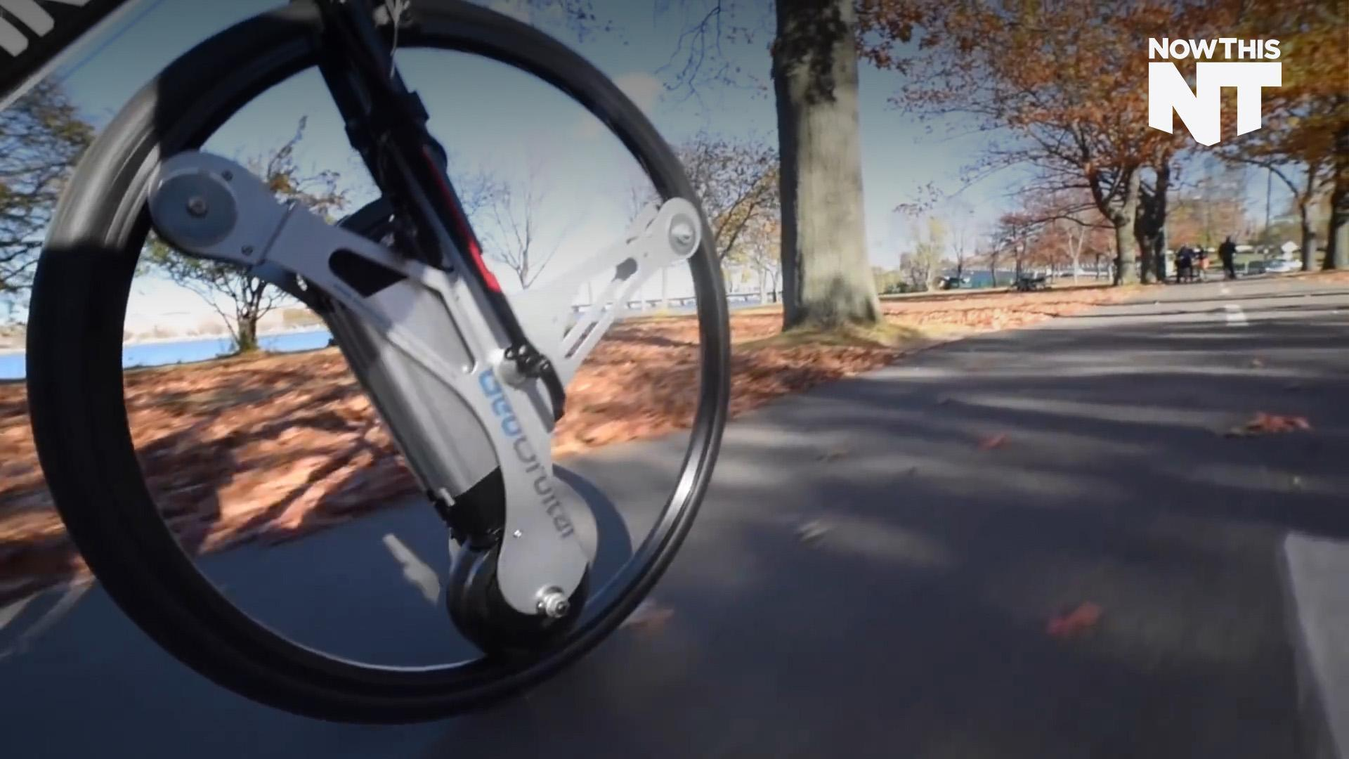 GeoOrbital Gives Any Bicycle An Electric Motor In 60 Seconds