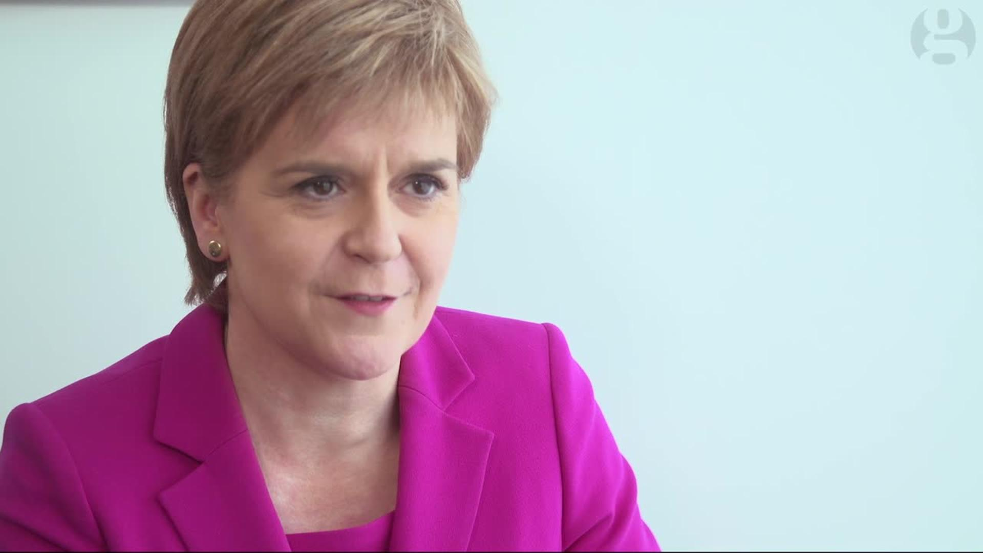 Nicola Sturgeon Accuses Cameron And Osborne Of Running 'Fear-Based' Campaign To Stop 'Brexit'