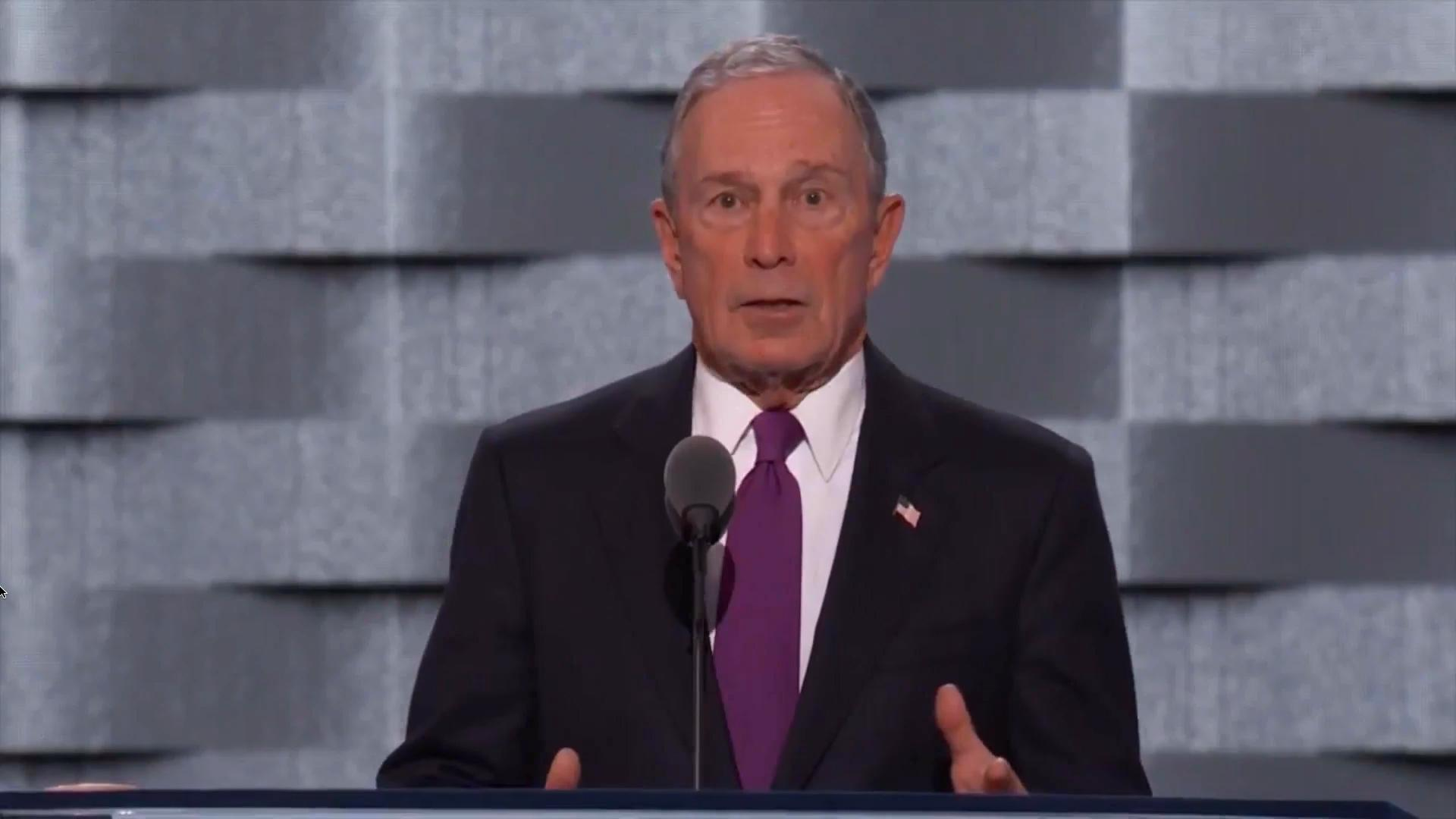 Clinton Is 'Sane' And 'Competent,' Unlike Trump, Bloomberg Tells U.S.