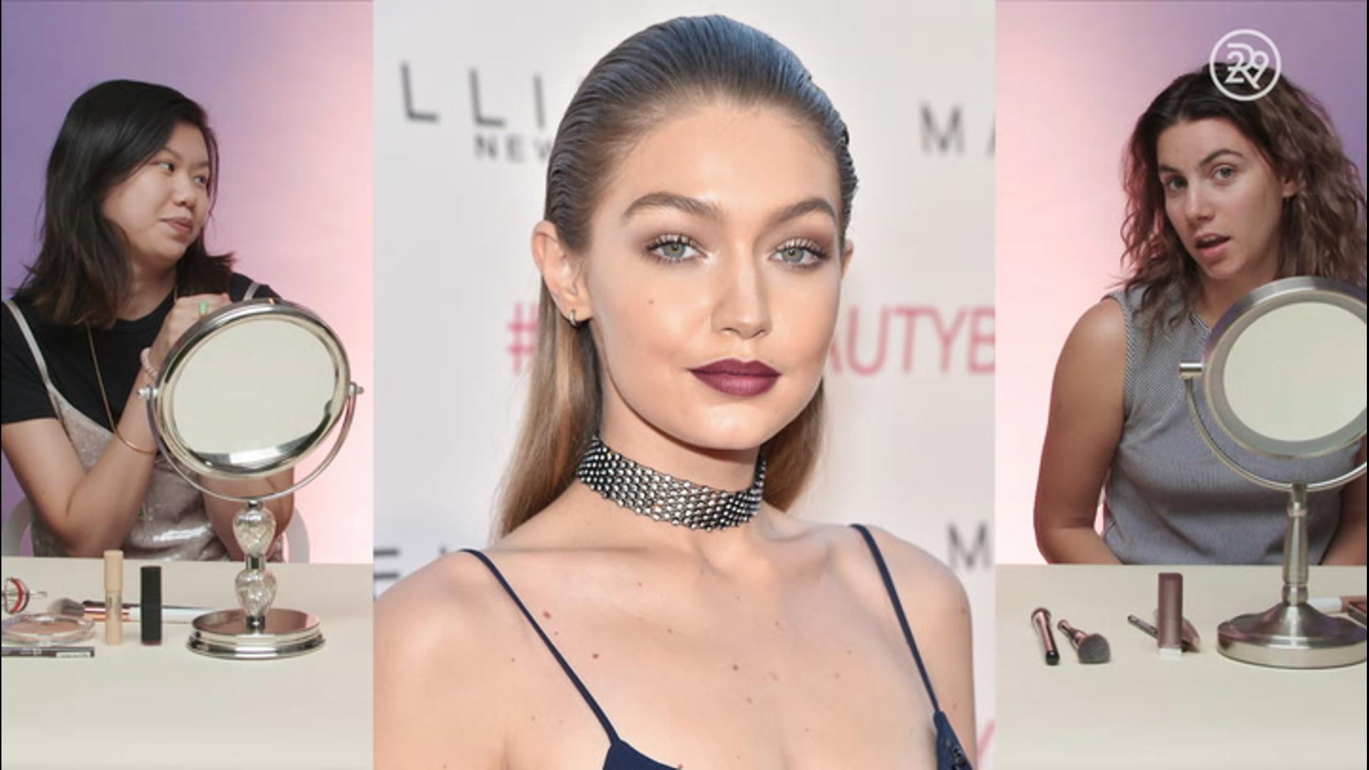 Gigi Hadid Gets A Fringe For Paris Fashion Week Party