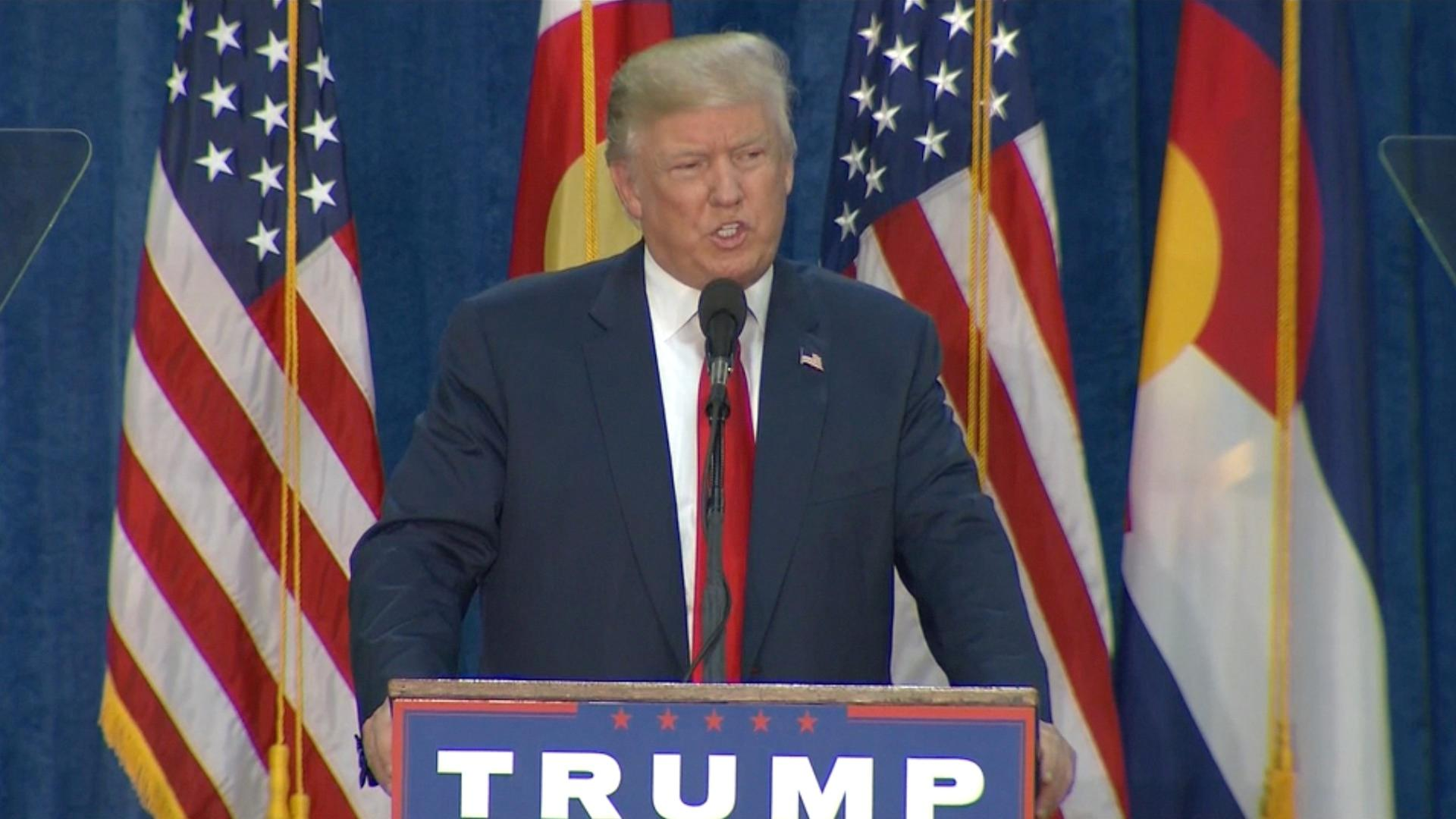 Donald Trump Encourages His Supporters To Vote Twice