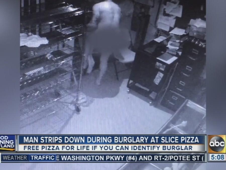 Naked Man Breaks Into Pizza Place, Shows Own Sausage And Meatballs