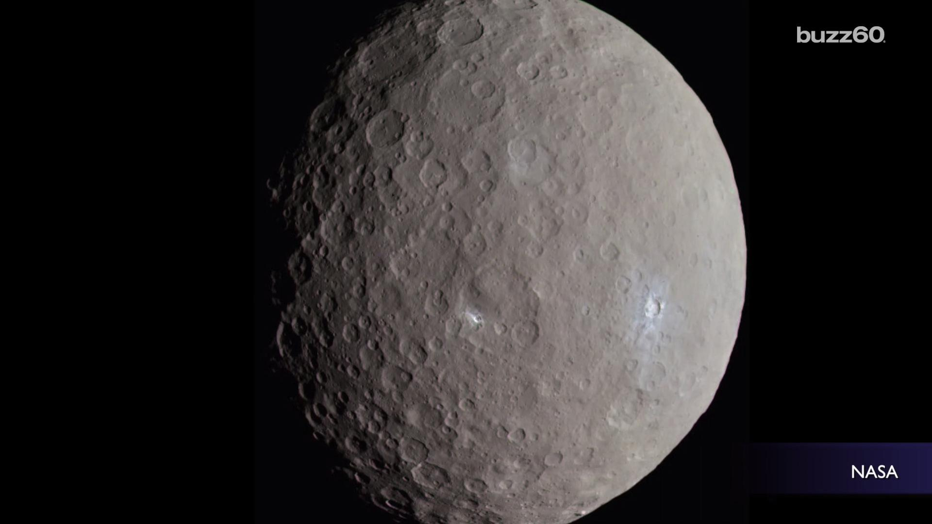 Scientists Have Finally Solved The Mystery Of Ceres' 'Bright Spot'