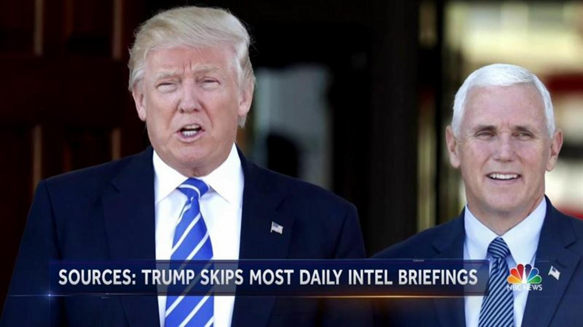 Trump Turned Away Intel Briefings But Spread A Rumor Made Popular By One Guy On Twitter