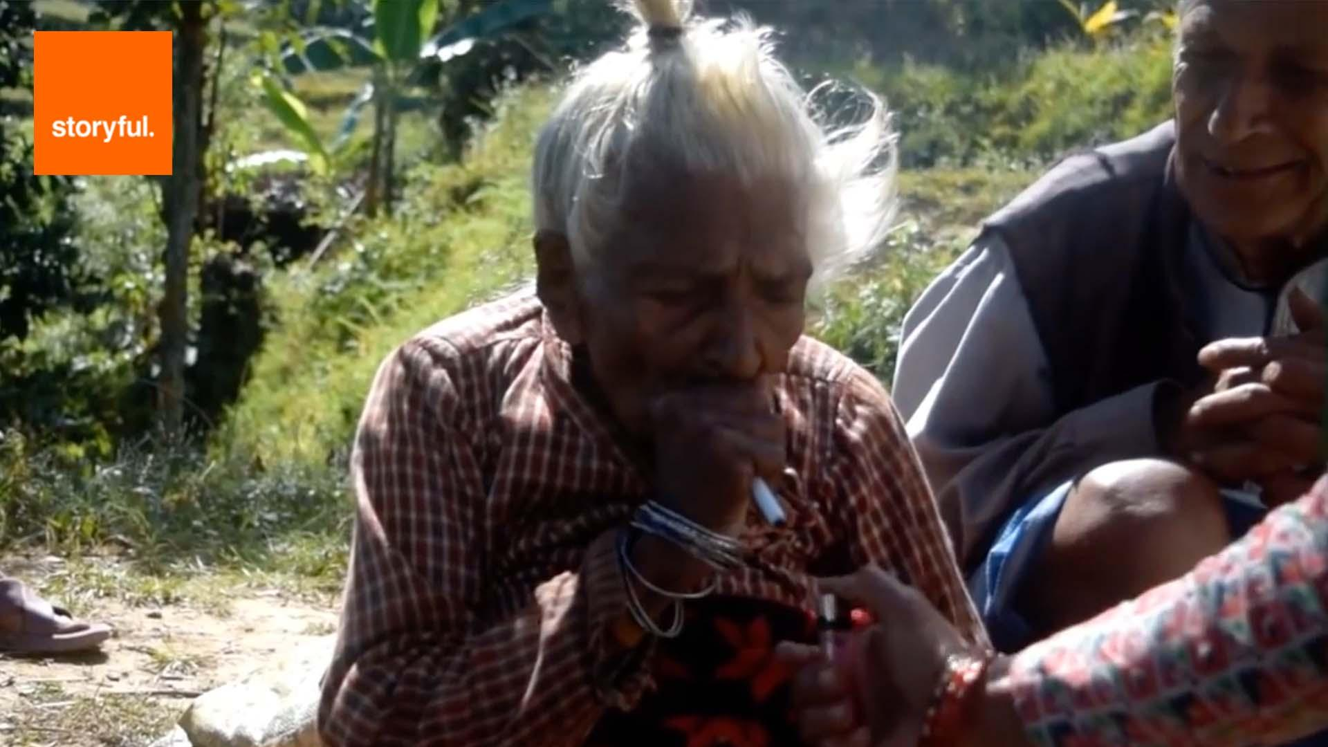 112-Year-Old Woman Is Still Fit And Active, Despite Smoking 30 Cigarettes Every Day For The Past 95 Years