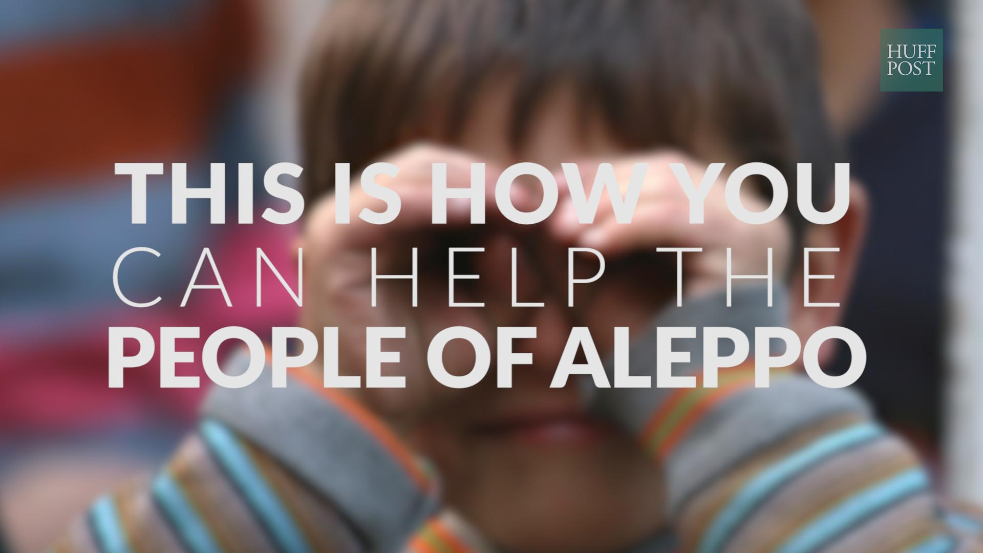 How Can I Help People In Aleppo? 10 Charities Working To Provide Food, Shelter, Medicine And Education To Syrians