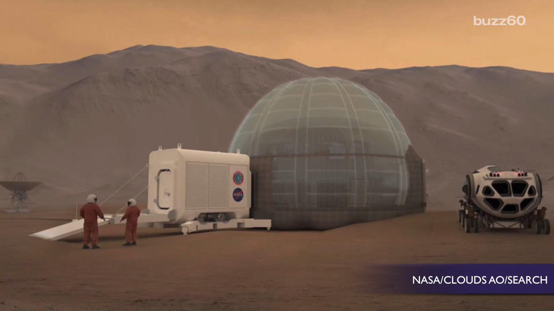 The 'Mars Ice Home' Is NASA's Revolutionary Design For Living Quarters On The Red Planet