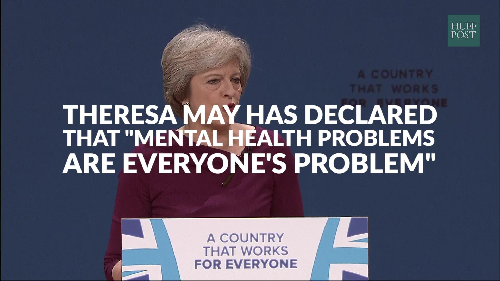 Theresa May Vows To Tackle 'Stigma' Of Mental Illness As She Blogs For HuffPostUK On Plans To Help Children