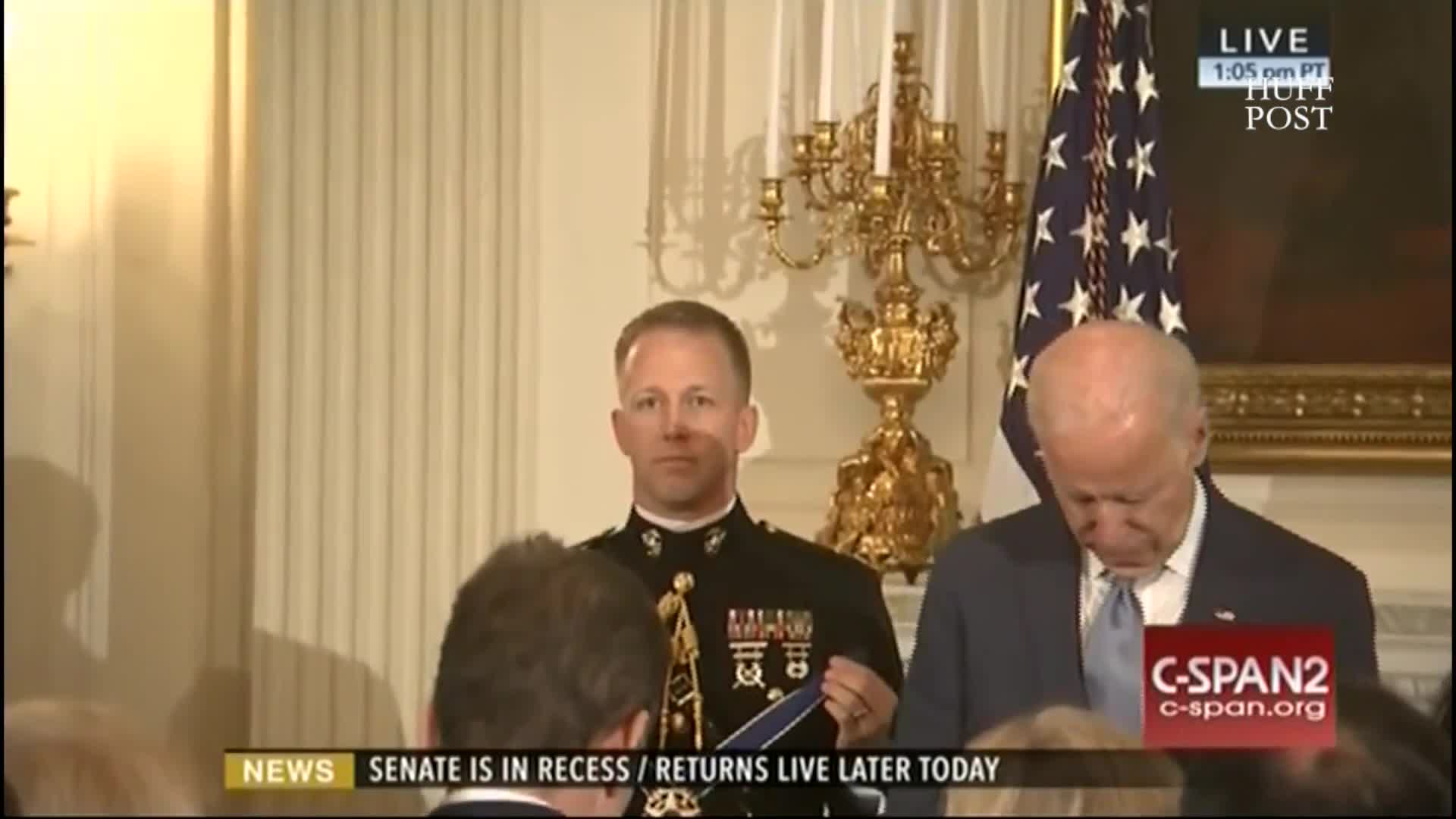 Obama Awards Biden The Presidential Medal Of Freedom In Surprise White House Tribute