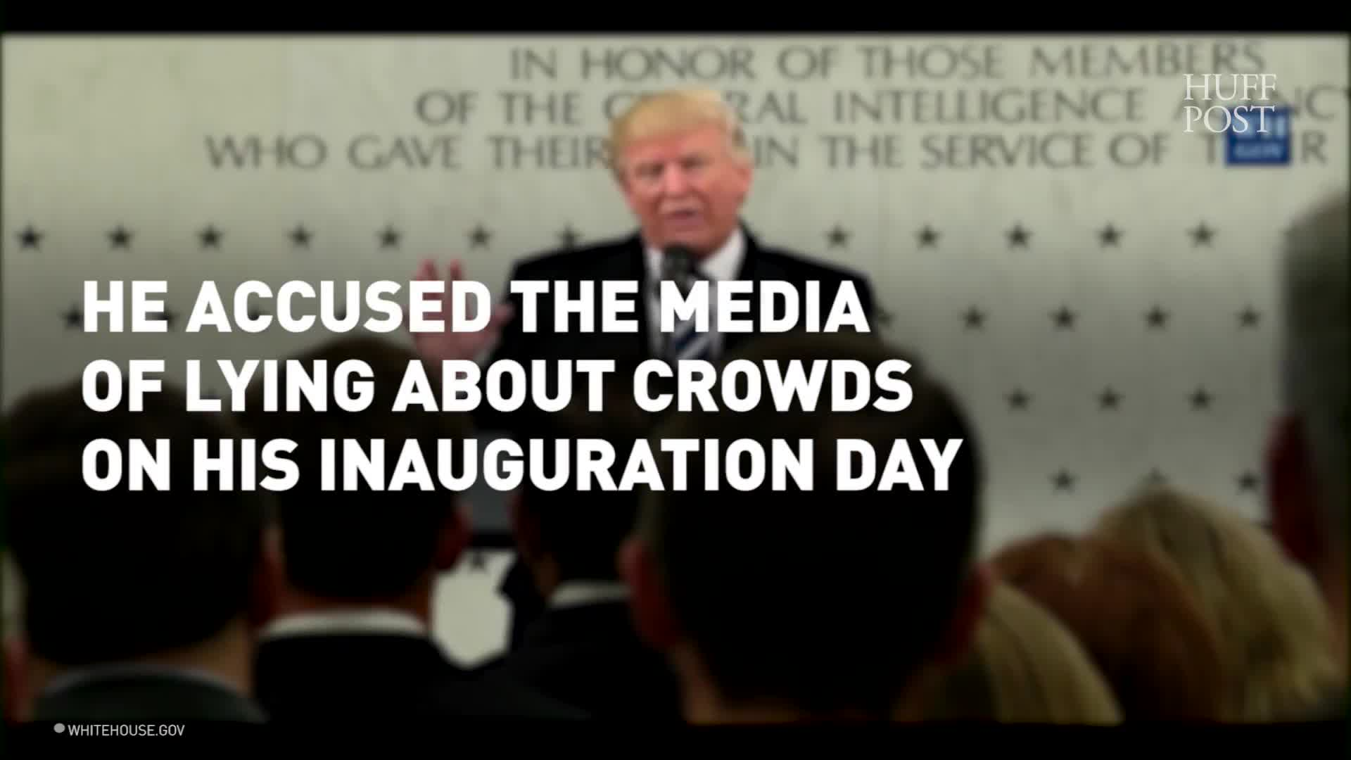 Trump And His Press Secretary Flagrantly Lied On Their First Full Day In Office. That Matters.