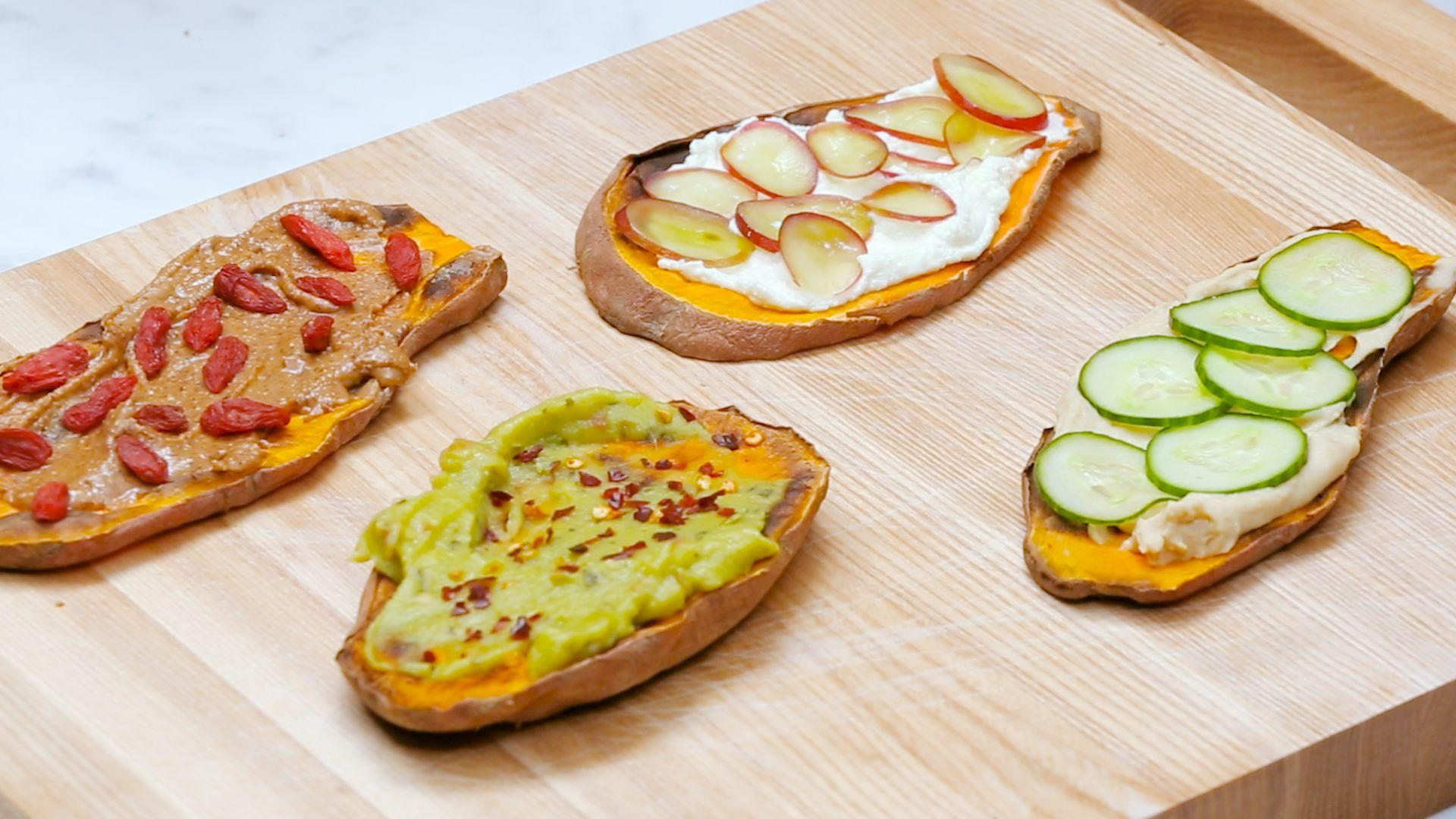 The Recipes To Help You Get In On The Sweet Potato Toast Trend | HuffPost Life