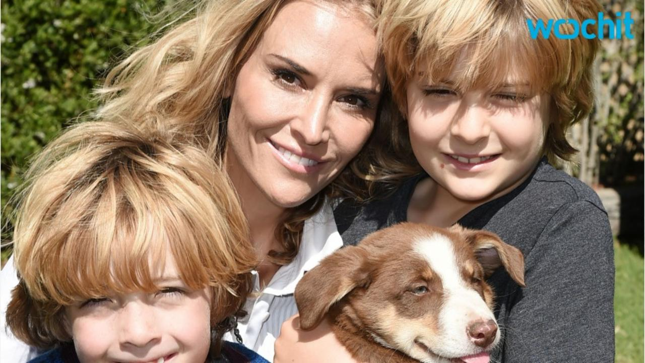 Brooke Mueller's sons are staying with their grandparents while she seeks help at trauma center