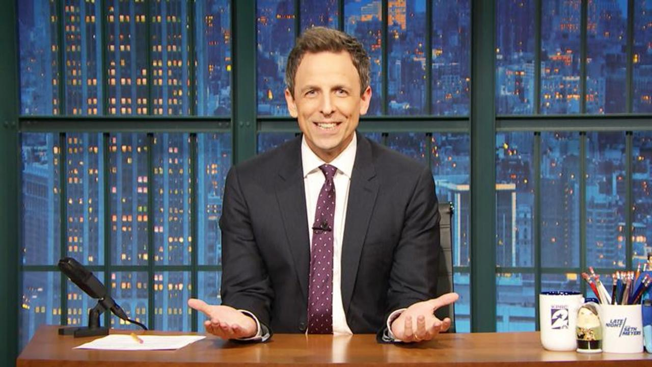 Seth Meyers Is Sick Of Donald Trump's False Voter Fraud Claims