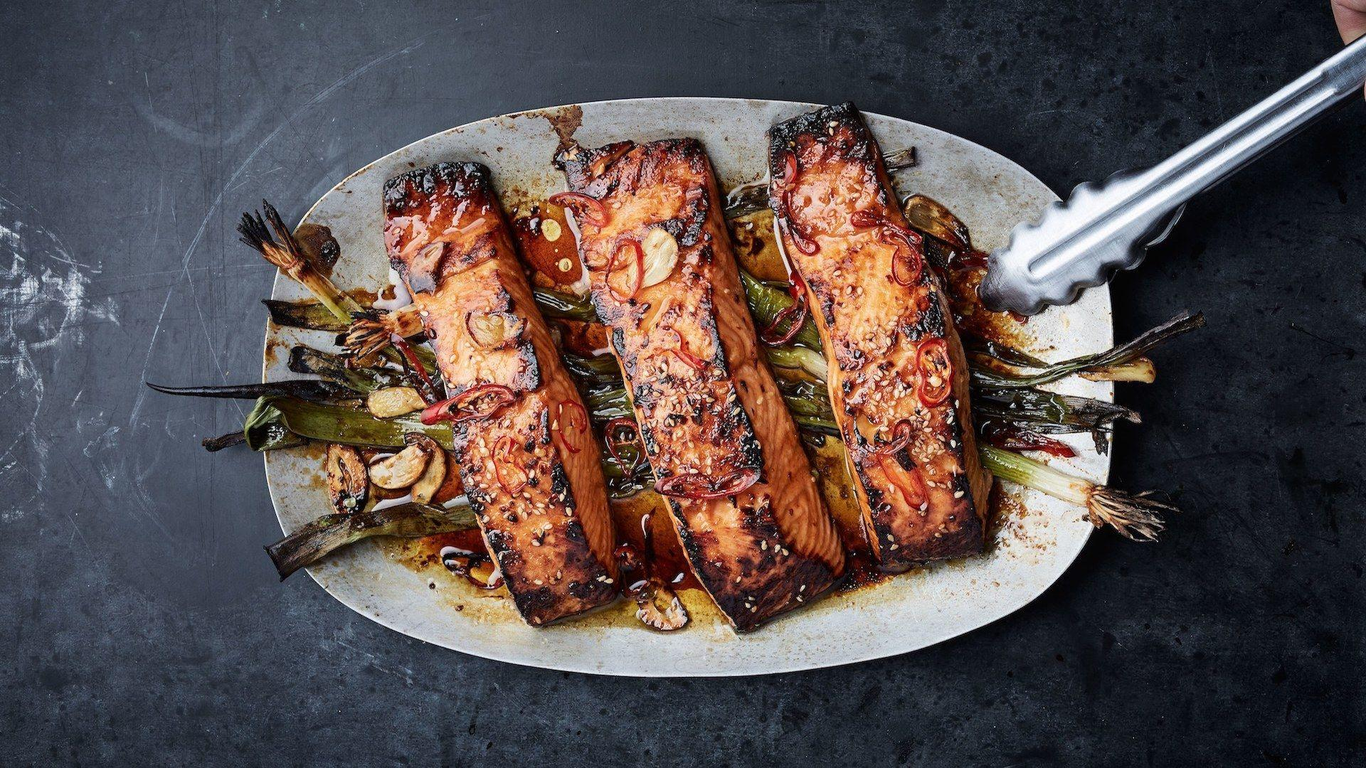 What's For Dinner: The Easiest Sesame-Broiled Salmon Ever | HuffPost Life