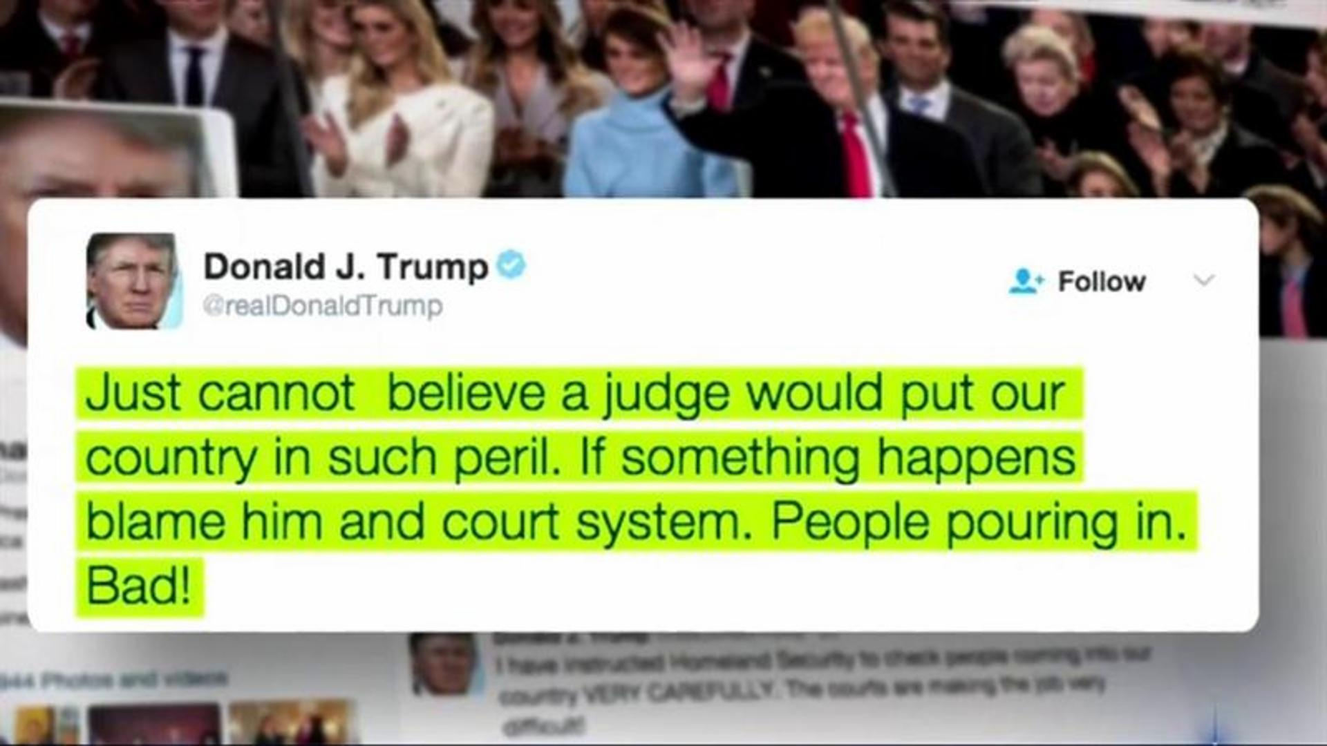 Federal Judge Rebukes Trump In Speech: 'This Is Not Normal'
