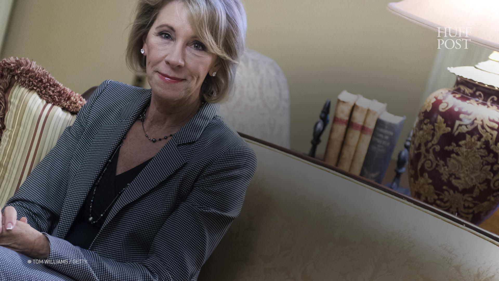 OK, Betsy DeVos Is Now Education Secretary, But The Fight Over Her Agenda Has Just Begun