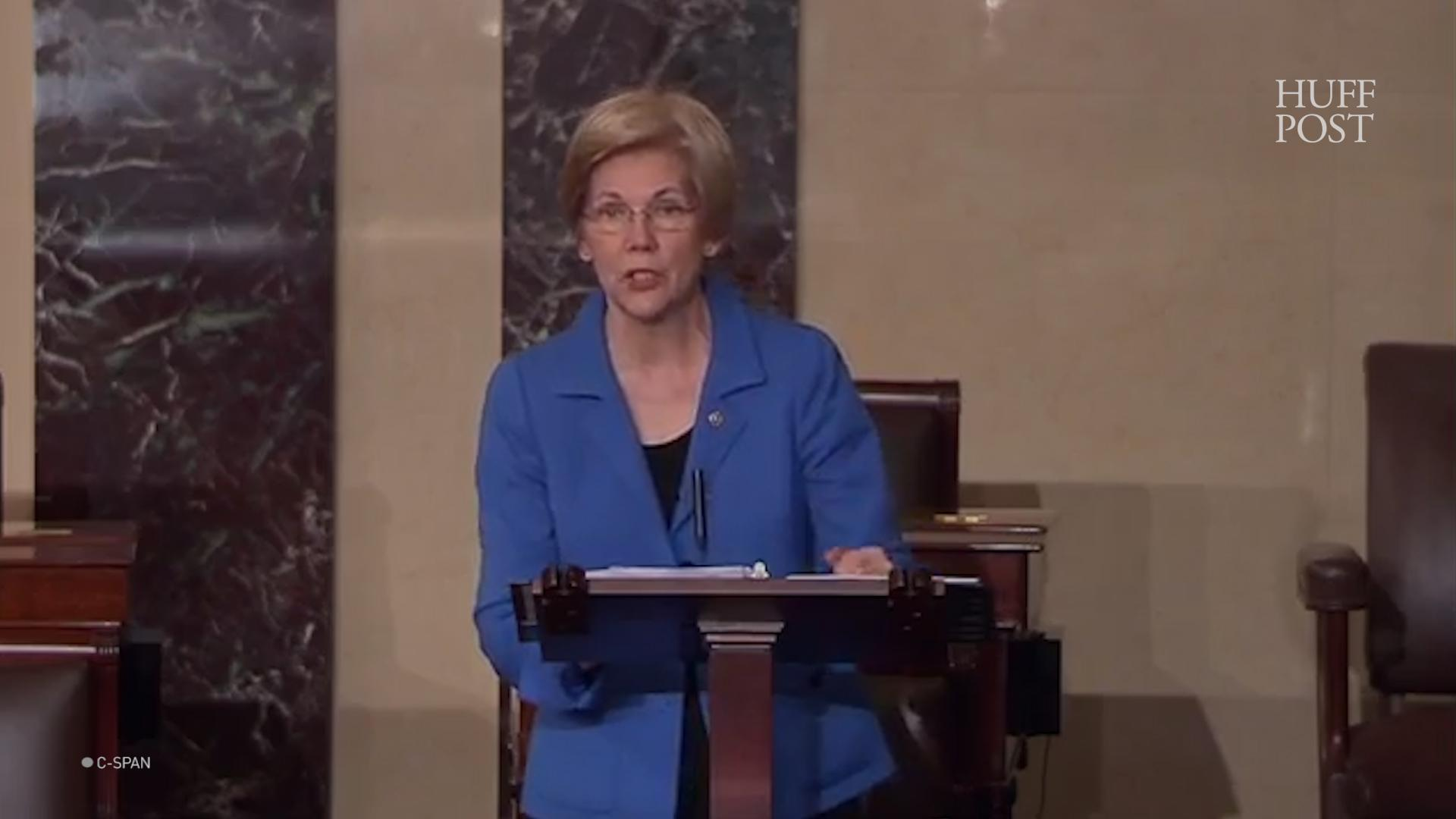 Mitch McConnell Silencing Elizabeth Warren Shows What Women Put Up With Every Day