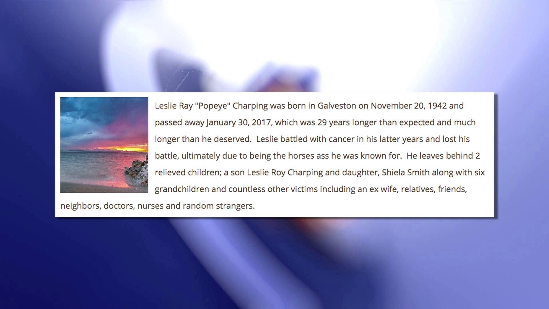 'Relieved' Family Writes Scathing Obituary For 'Evil' Father