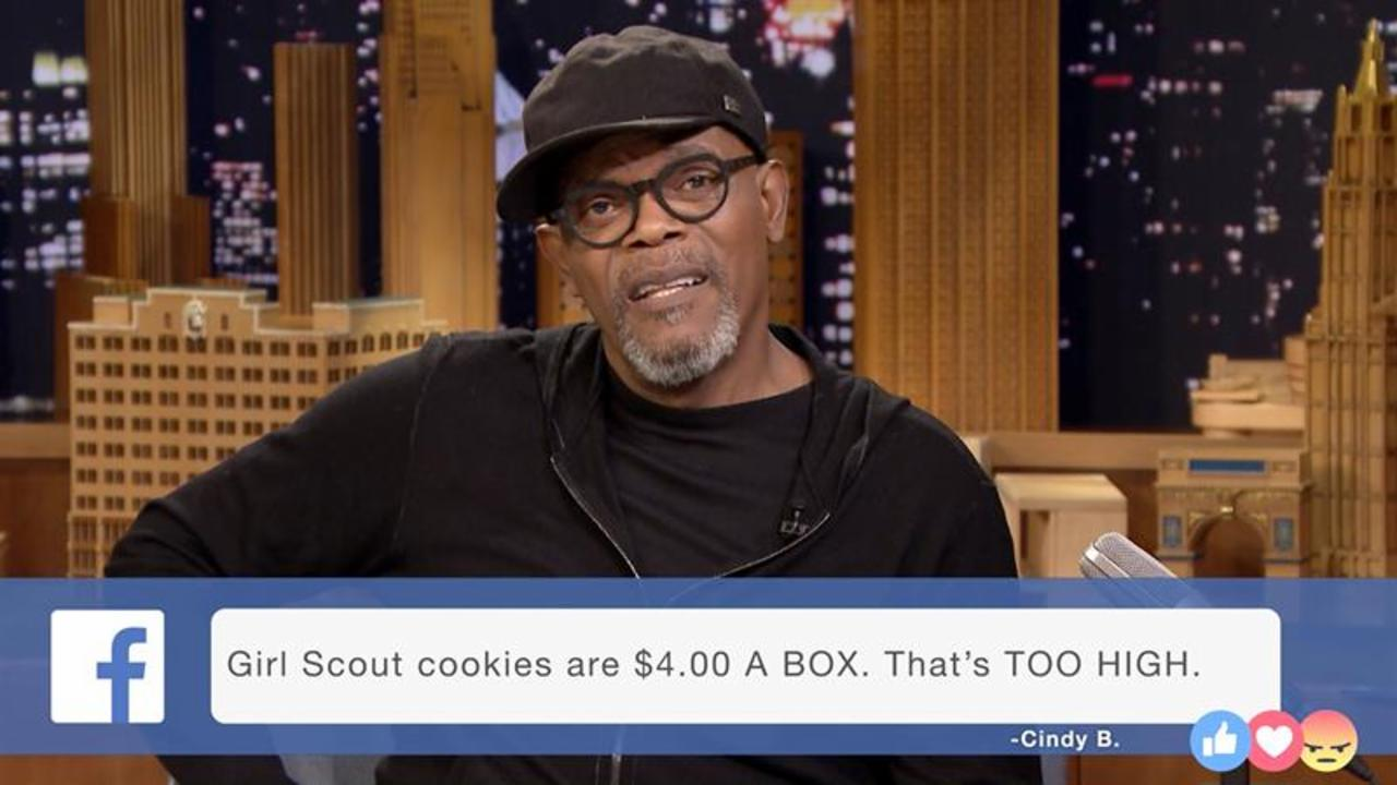 Samuel L. Jackson Goes Full 'Pulp Fiction' Reading People's Facebook Rants