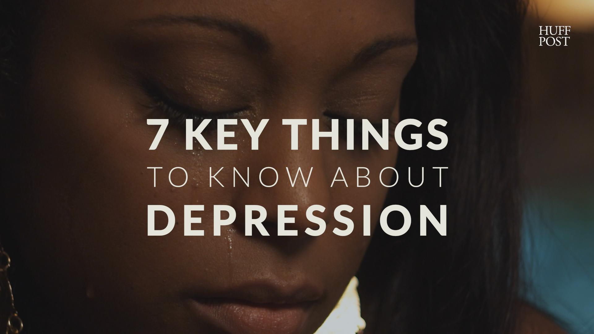 7 Important Things People With Depression Want You To Know