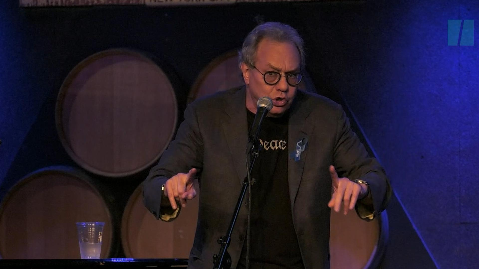Here's What Makes Angry Comedian Lewis Black Most Angry About Trump