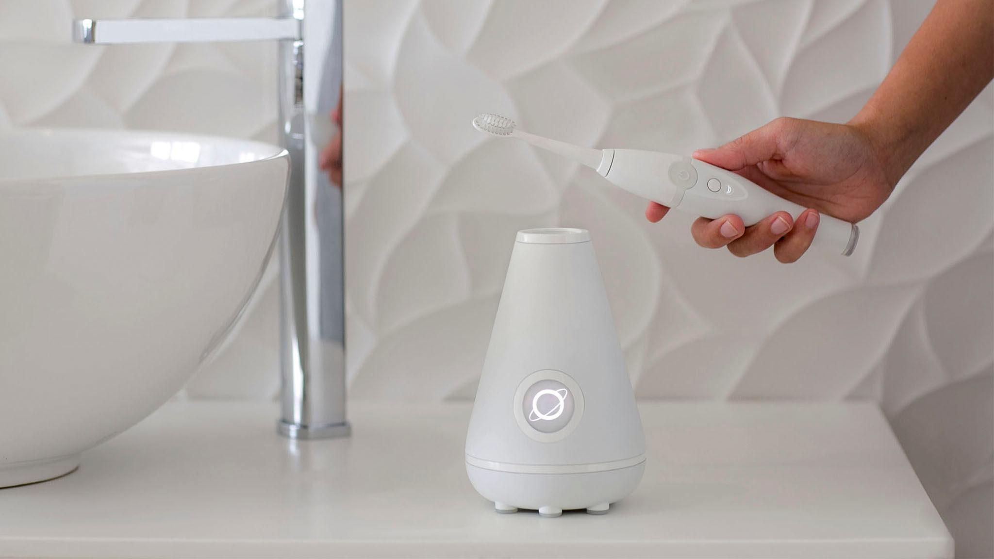 This sleek electronic toothbrush will boost your smile in no time