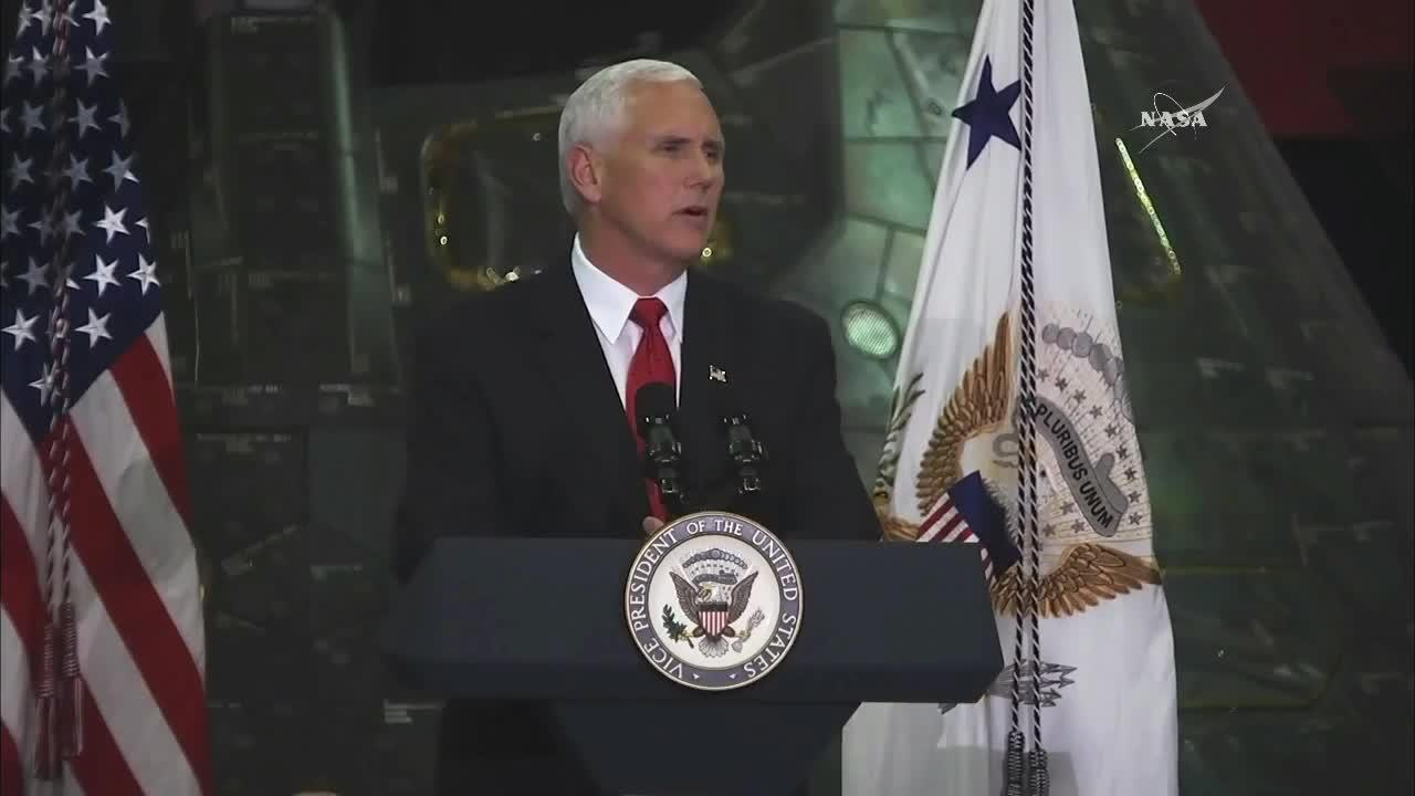 Mike Pence Ignores NASA's 'Do Not Touch' Sign, Sends Internet Into Orbit