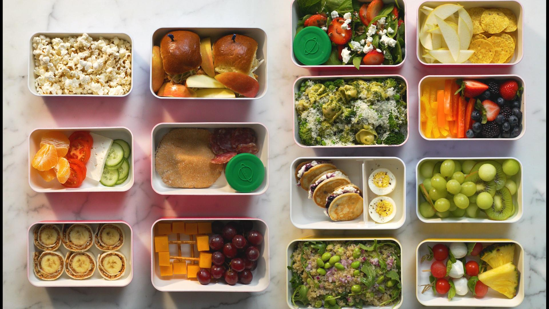 A Real-Life Look At Today's Packed School Lunches | HuffPost Life