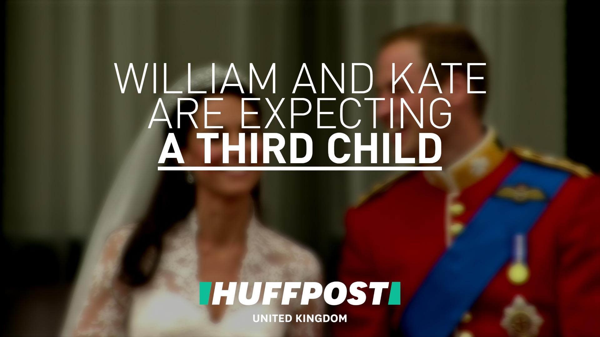 Duchess Of Cambridge Pregnant With Third Child | HuffPost Life