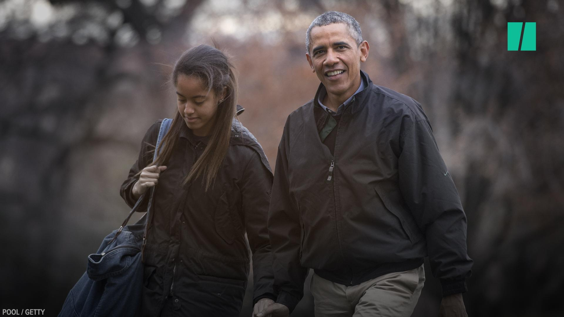 Obama's Story About Taking Malia To College Will Tug At Your Heartstrings