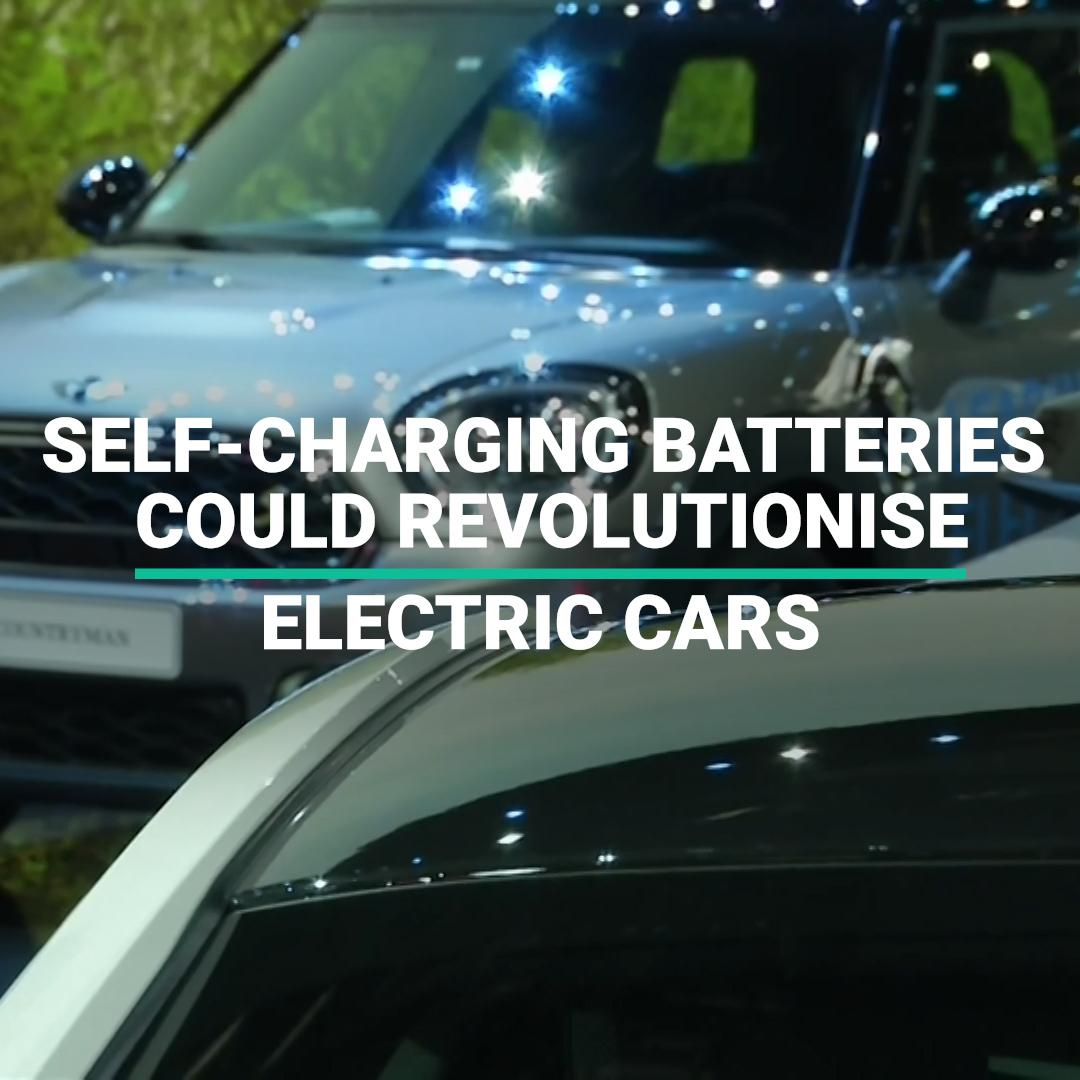 These Self-Charging Car Batteries Could Revolutionise The Electric Car