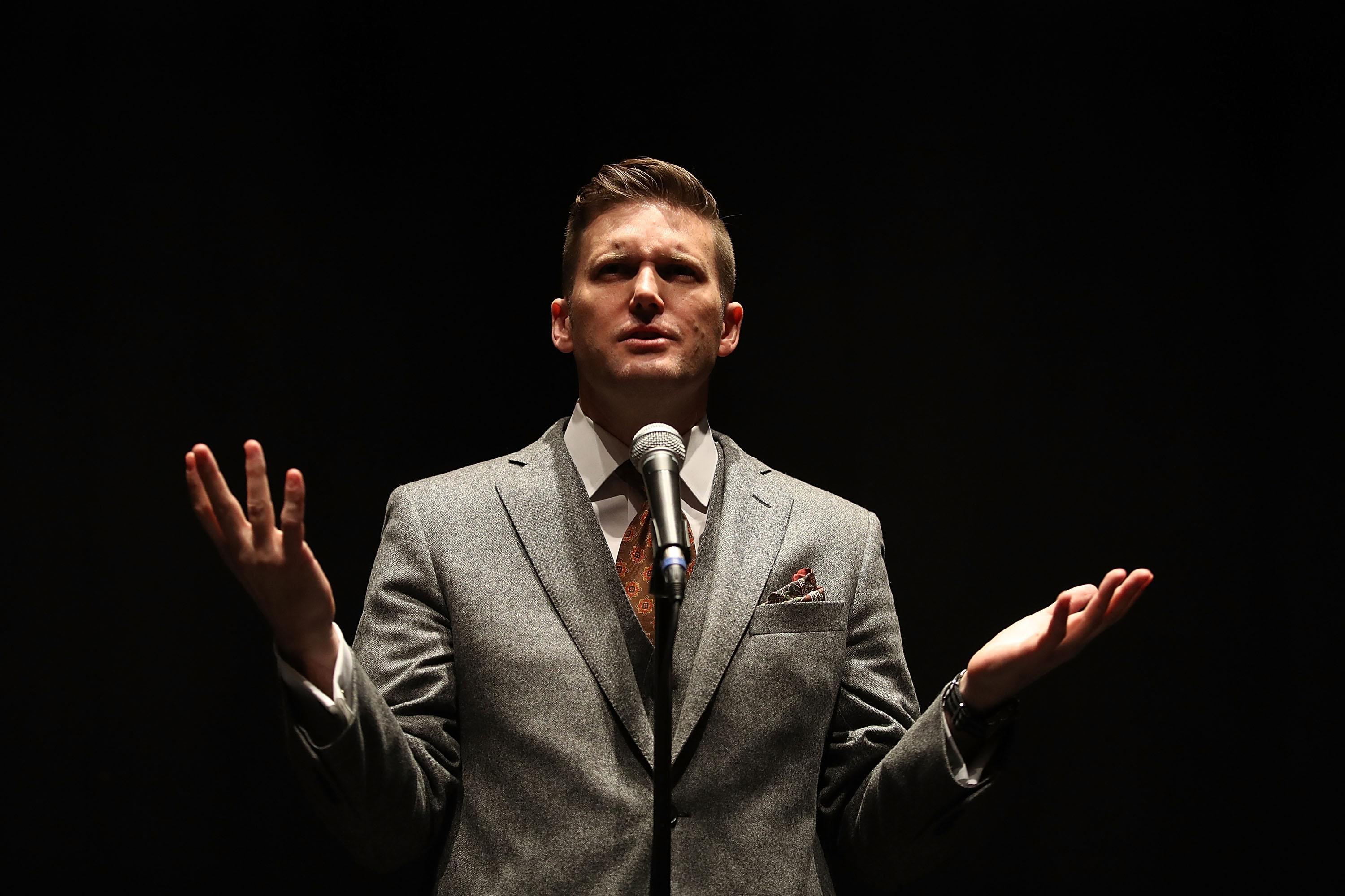 Richard Spencer 'Banned From 26 European Countries'