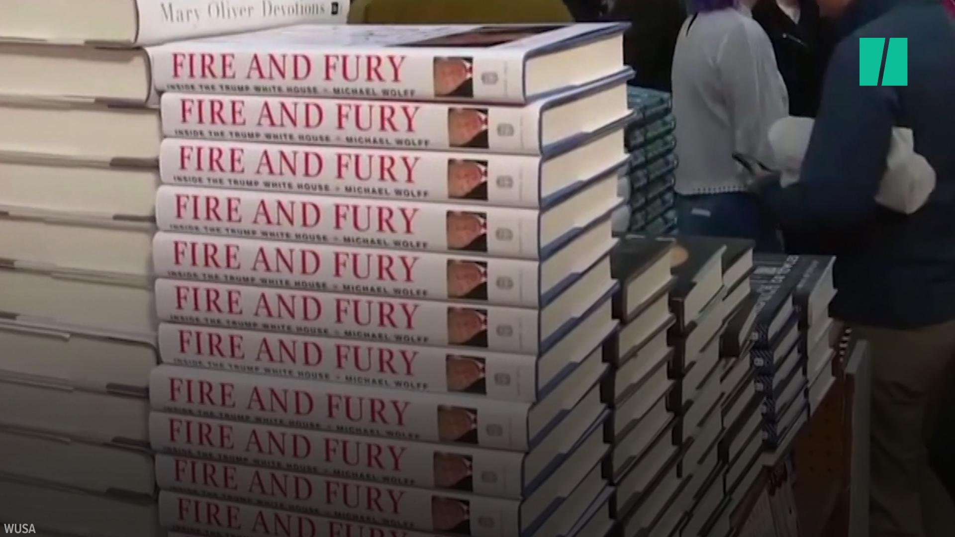 The Wildest Moments From 'Fire And Fury,' The Trump Book Everyone Is Talking About