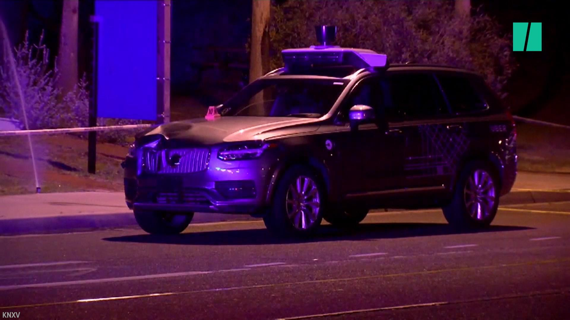 Self-Driving Uber Involved In Arizona Pedestrian Death