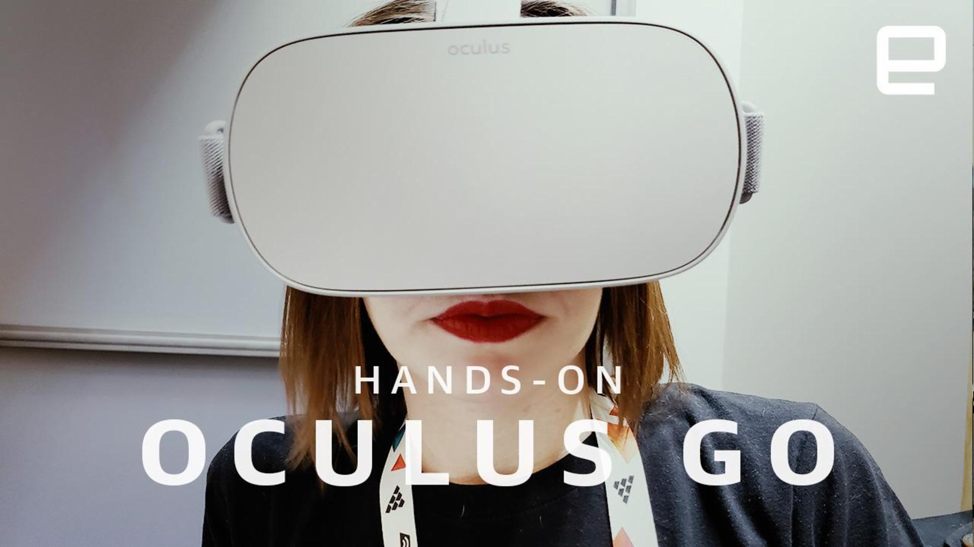 Hands-on with Oculus Go: Comfy, wireless VR