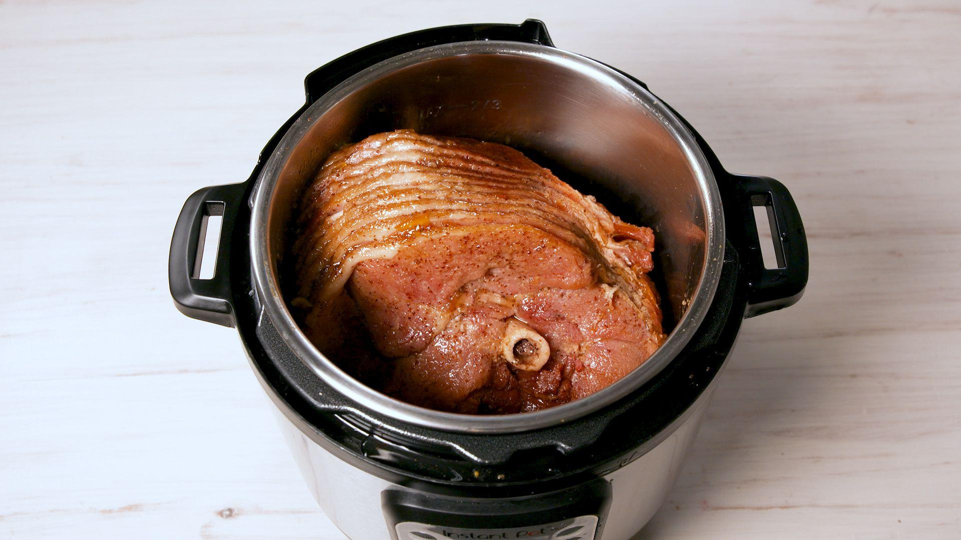 how to cook a small precooked ham