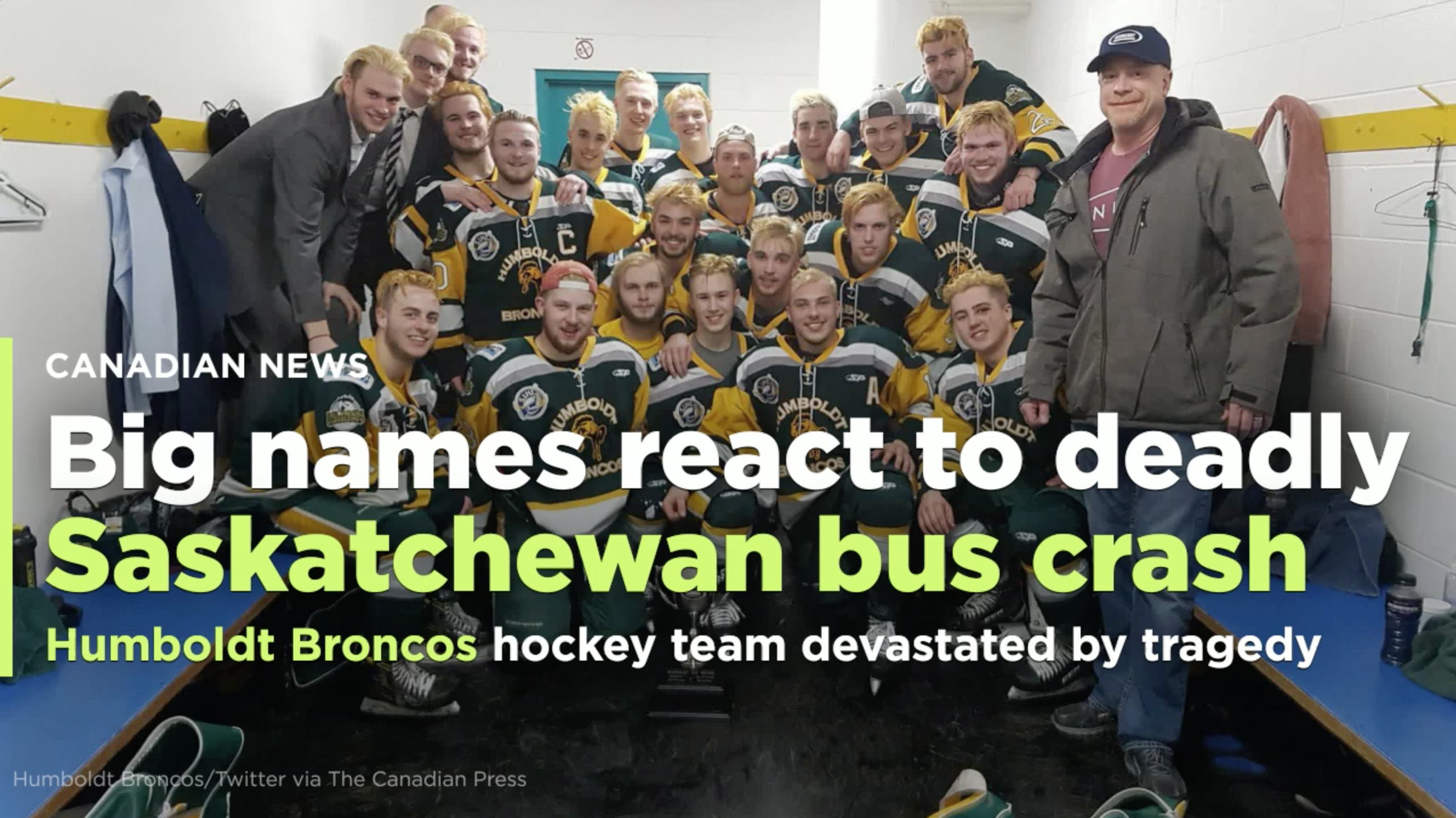 Alberta School Bus Crash Leaves Several Students In Critical Condition