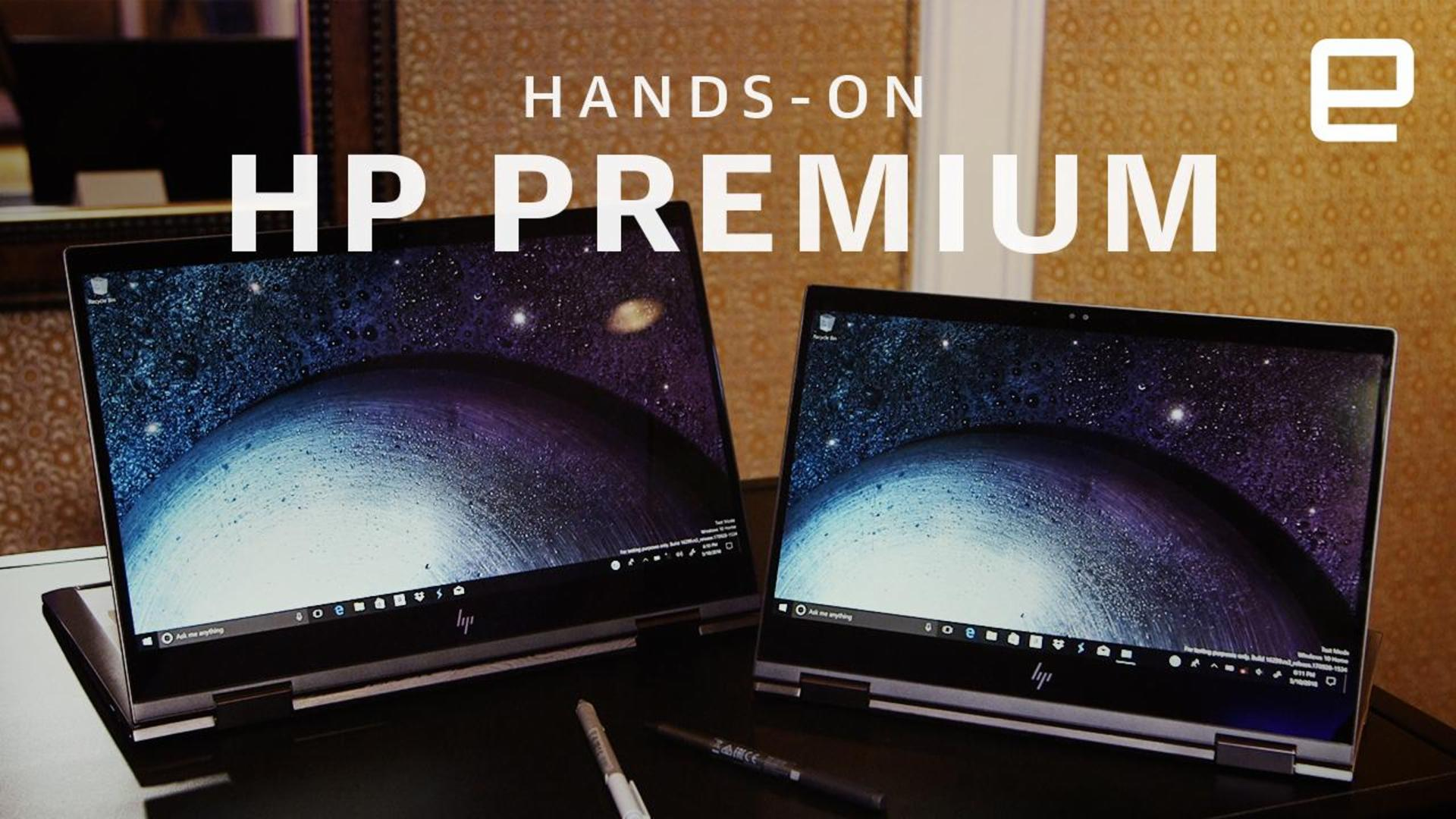 HP unveils a slew of new Envy and Elite PCs