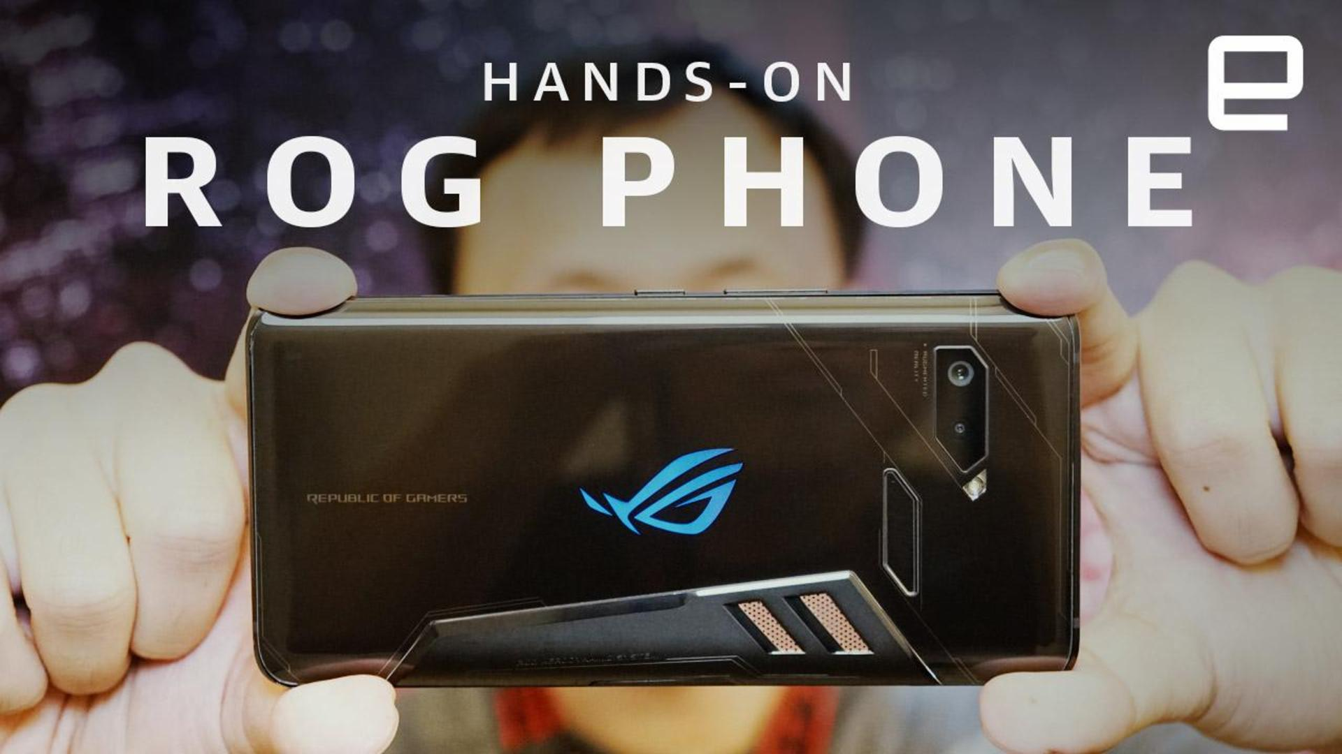 ASUS ROG's ridiculously high-spec gaming phone was made for 'PUBG'
