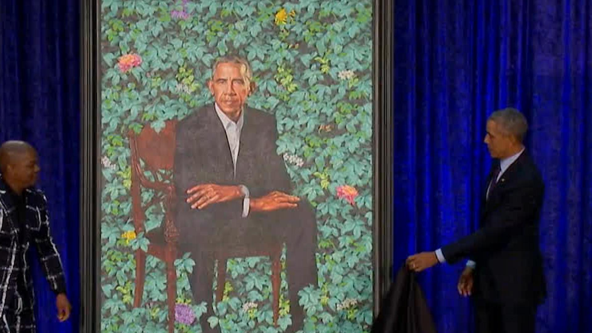 Barack And Michelle Obama's Portraits Are Going On Tour