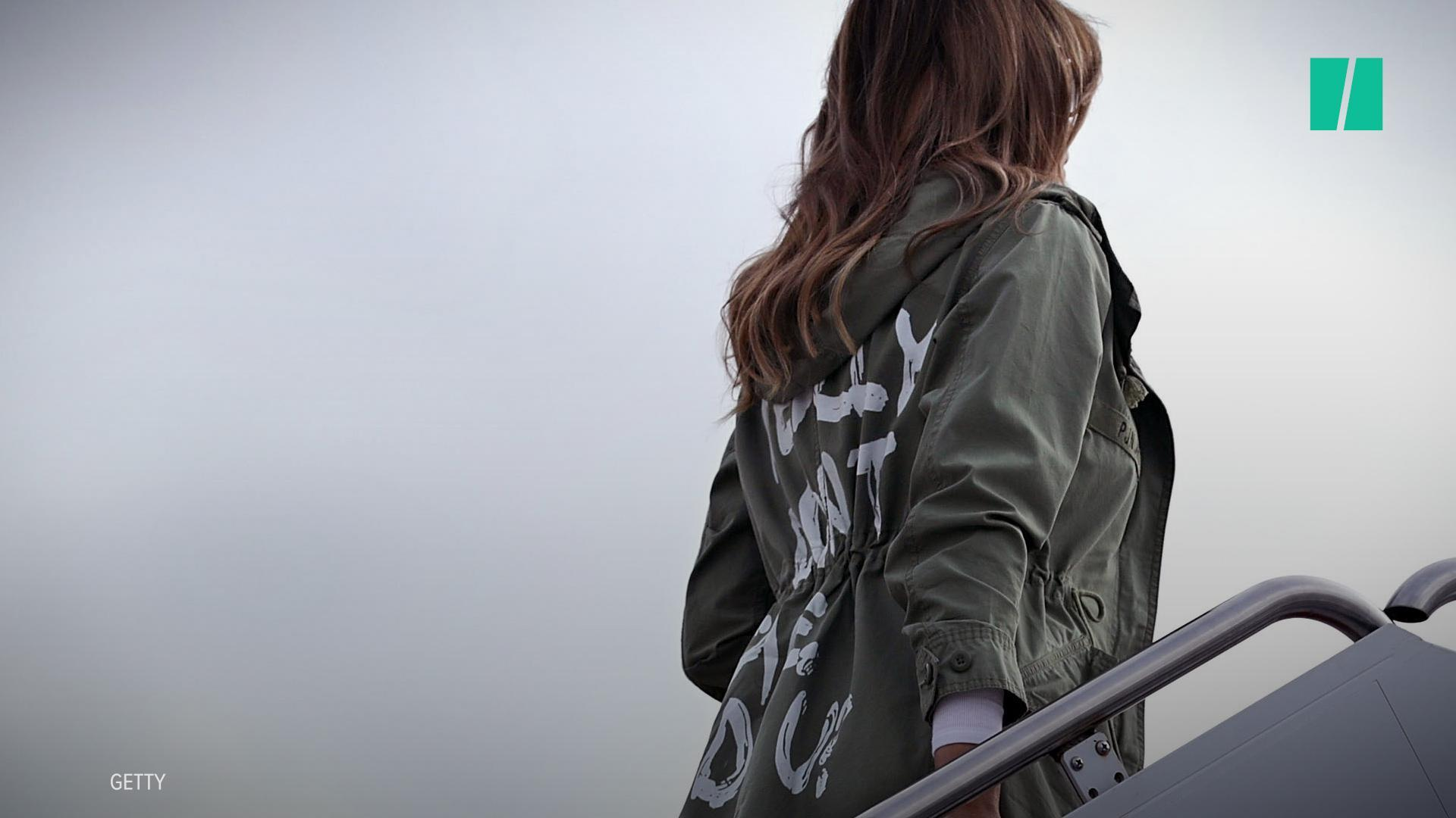 Melania Trump Reveals Why She Wore 'I Really Don't Care' Jacket