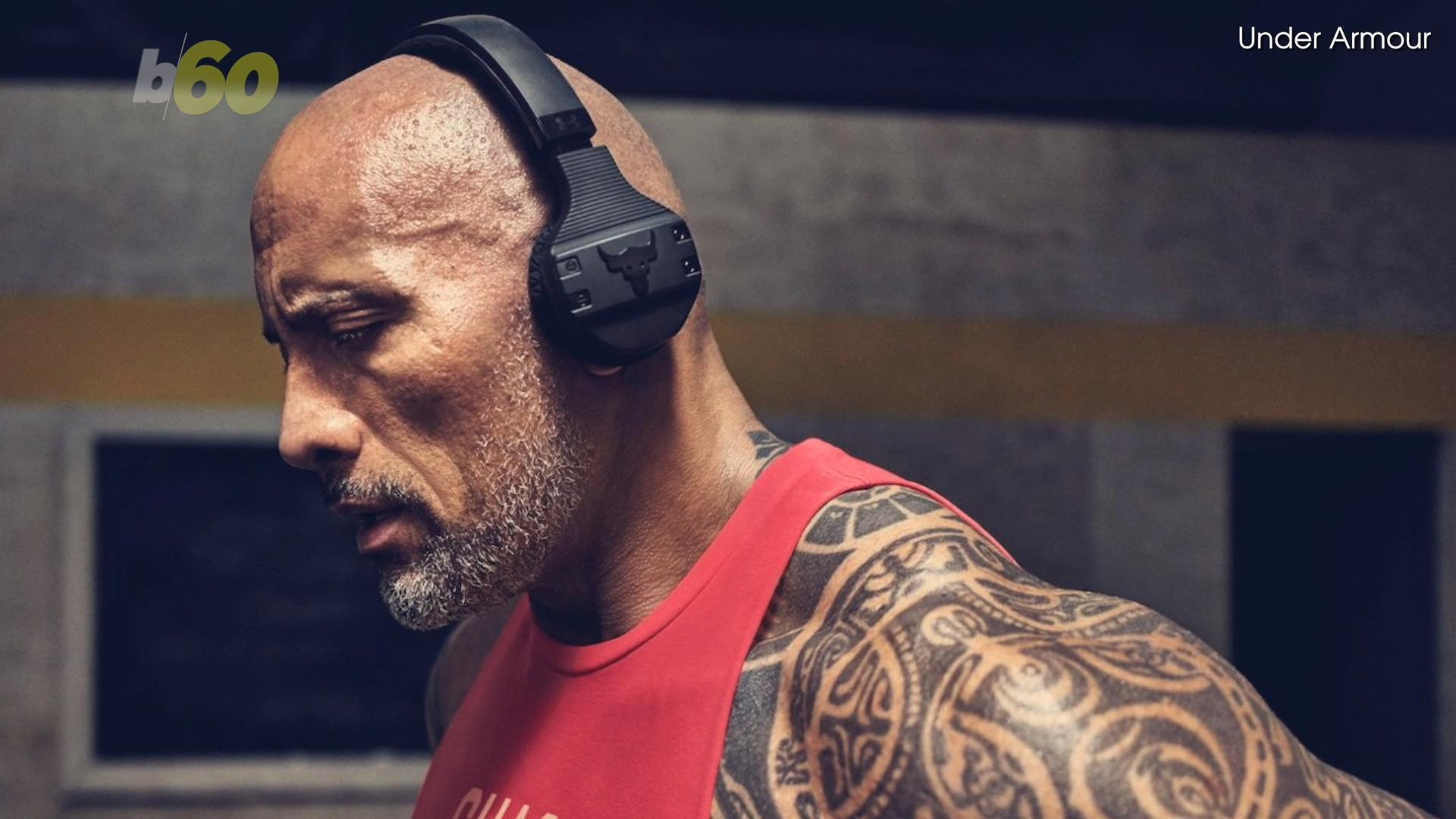 Dwayne 'The Rock' Johnson unveils latest Under Armour Project Rock collection, 'Iron Will,' with the help of Lindsey Vonn