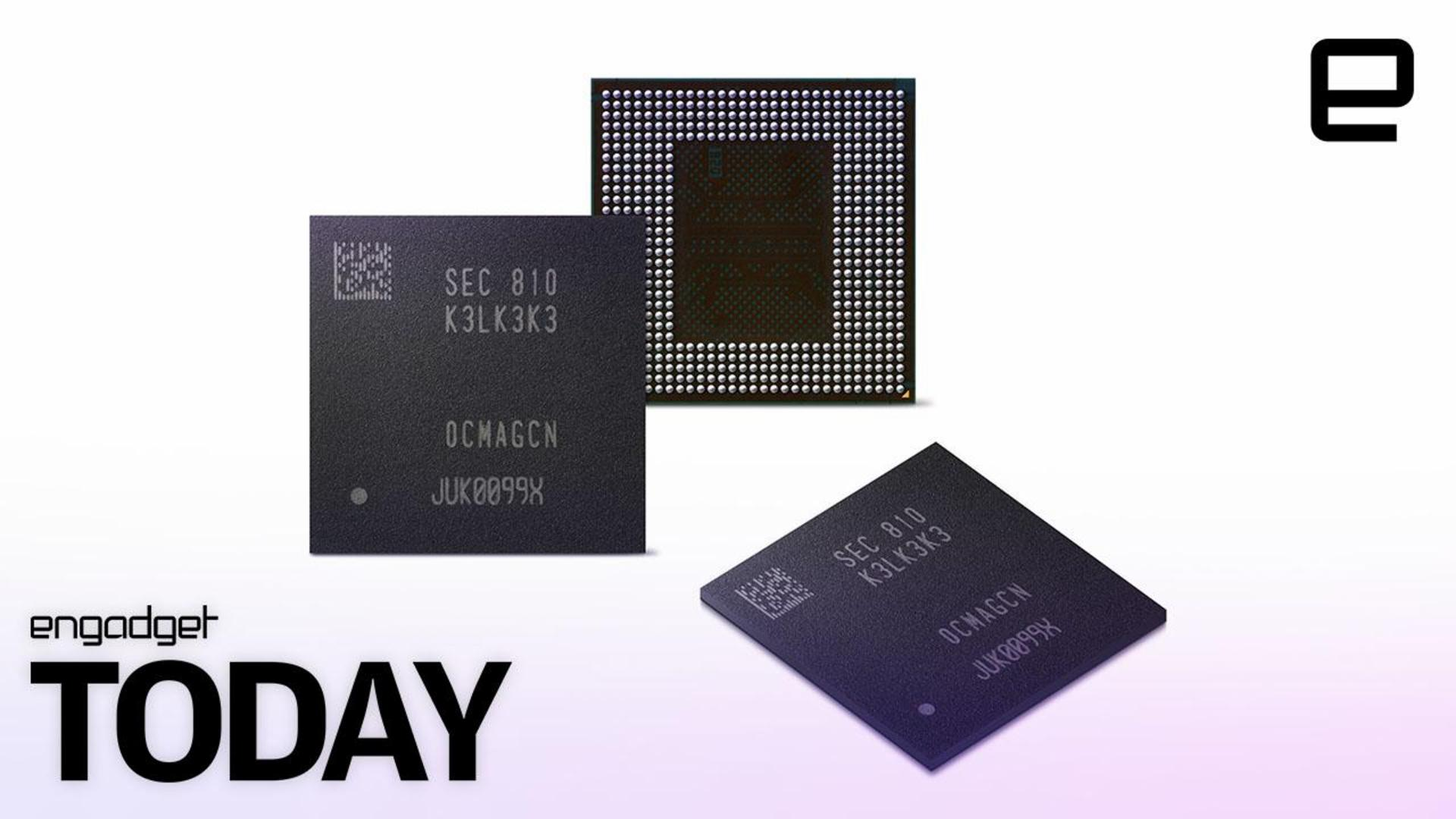 Samsung's new DRAM chip will make phones run faster and longer