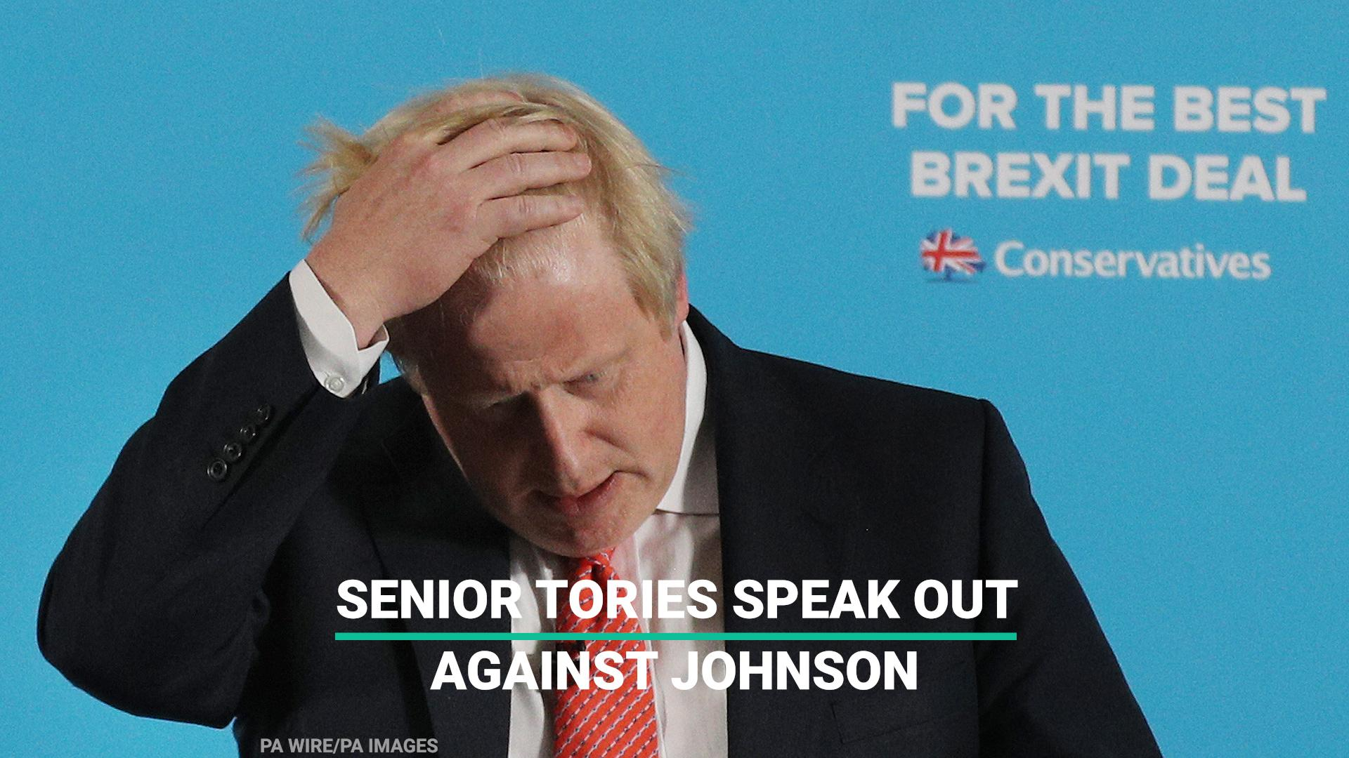 Boris Johnson's Burka Comments Split Tory Party As MP Warns Of Public's 'Despair'