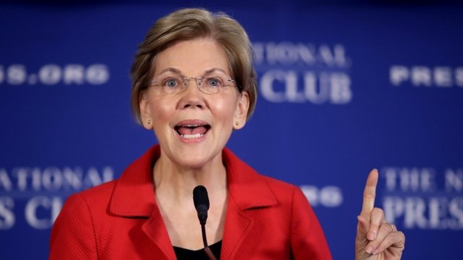 Elizabeth Warren Wants To Tax Corporate Lobbying