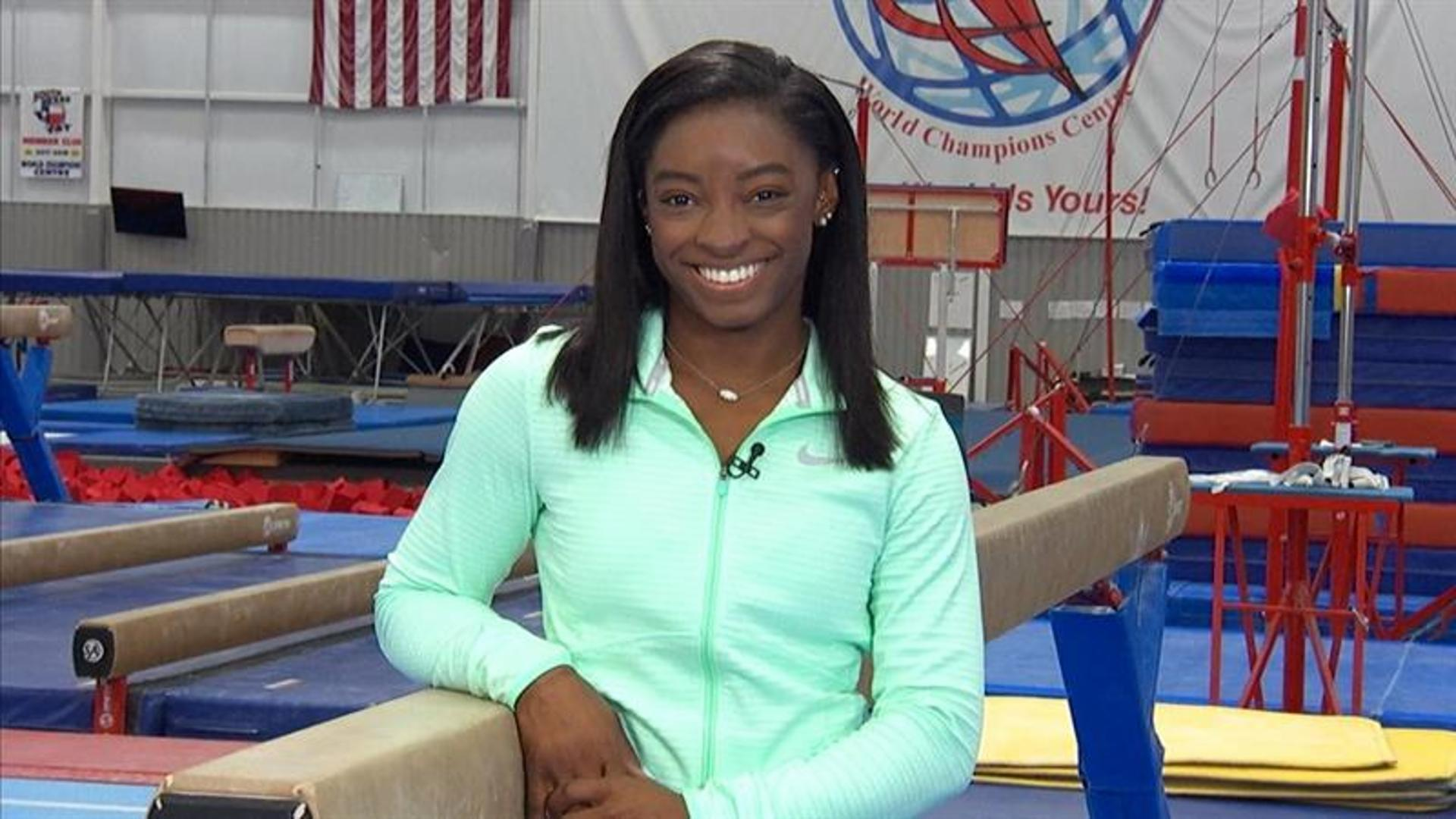 Simone Biles Opens Up About Wearing Teal For Sexual Abuse Survivors
