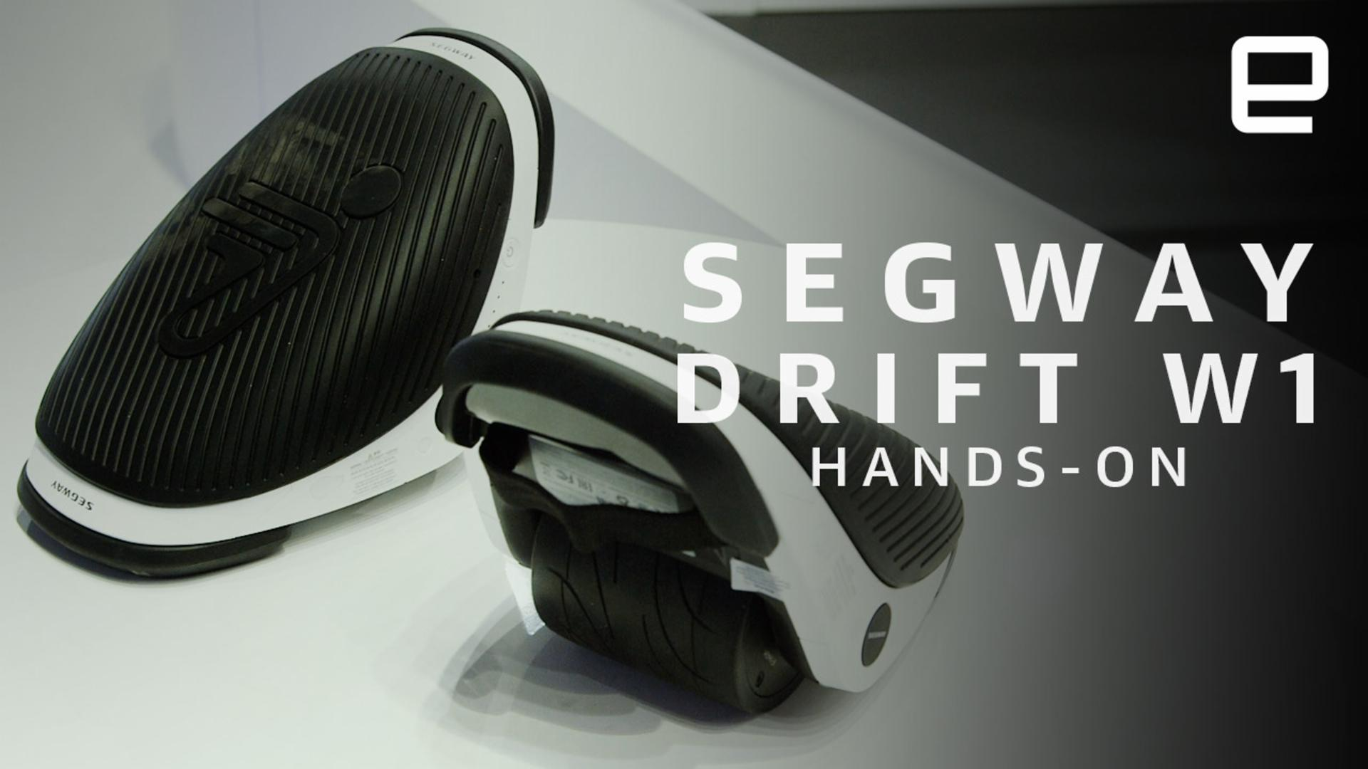 Segway's Drift e-skates aren't nearly as dangerous as they look