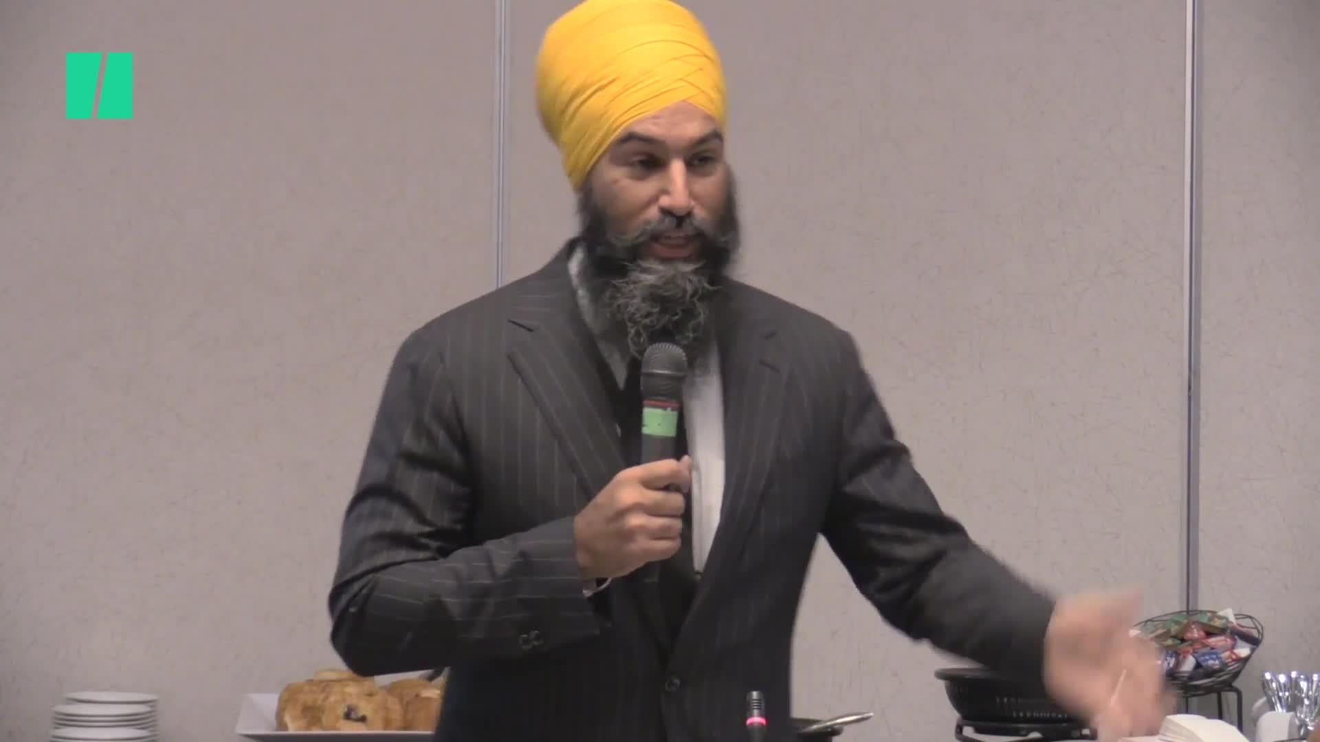 Jagmeet Singh Says Election Showed Canada's Voting System Is 'Broken'